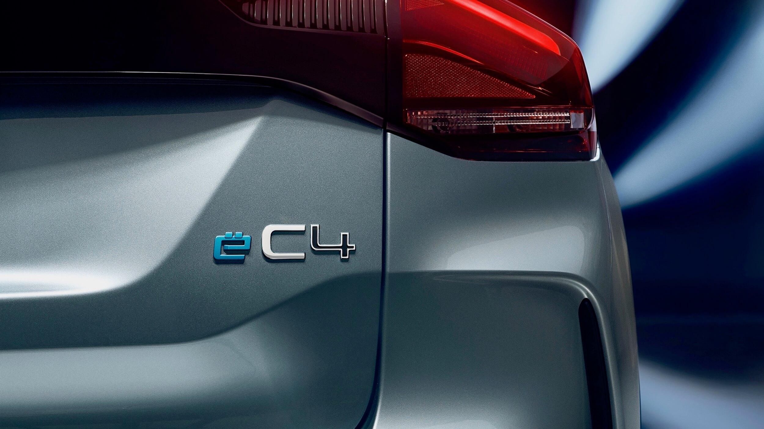 Citroën ë C4 badge