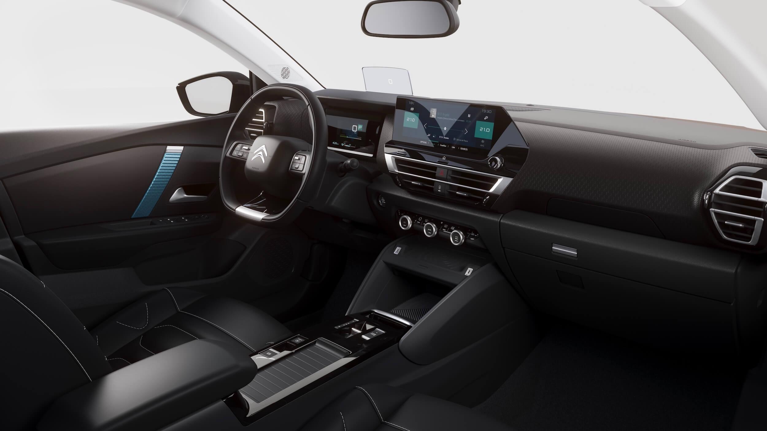 Citroën e C4 interieur