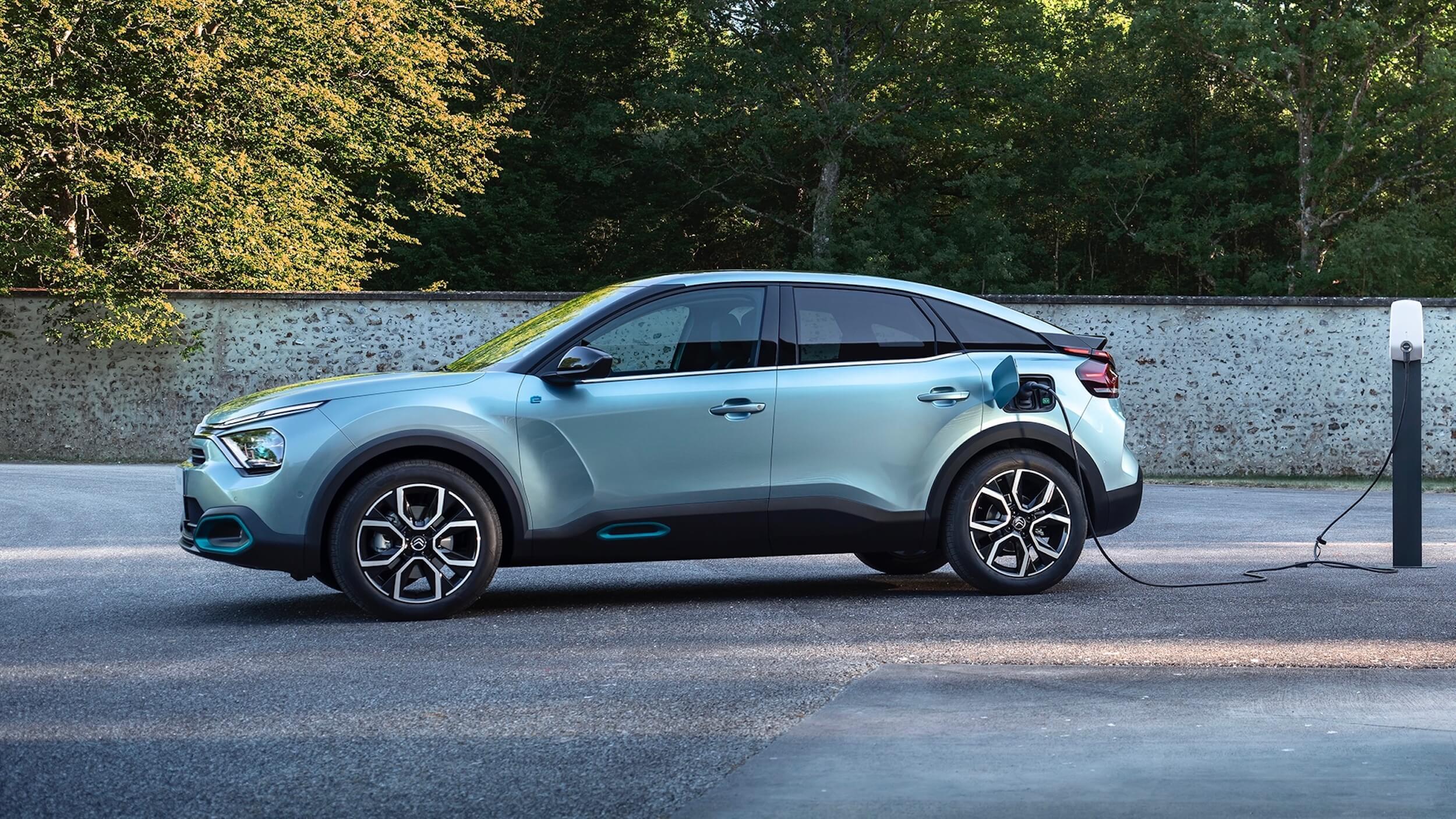 Citroën e C4 opladen