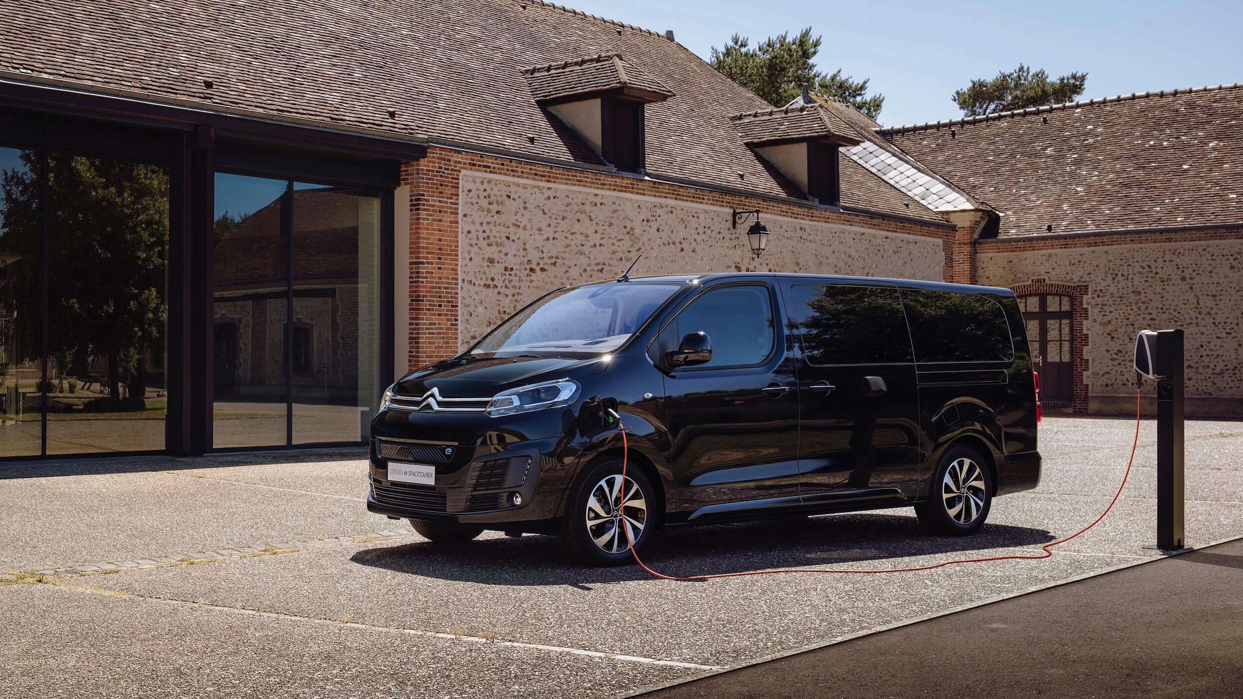 Citroën e SpaceTourer opladen