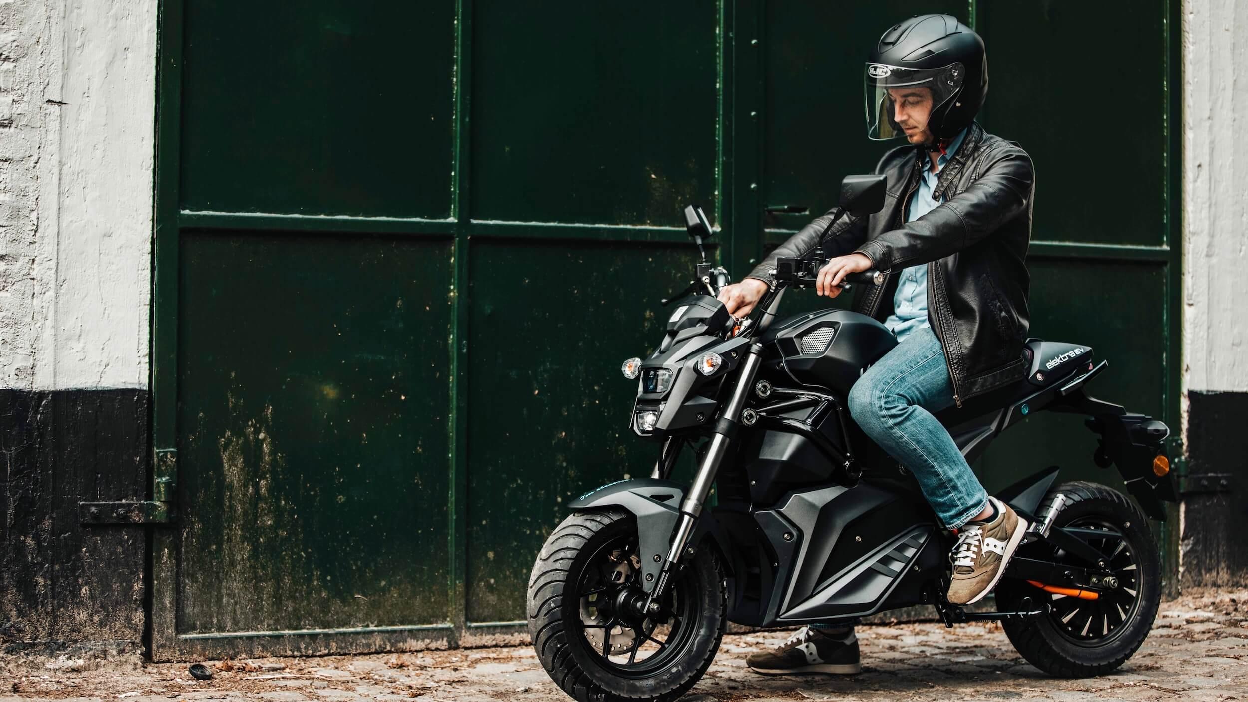 Elektra EV Wolf elektrische moto