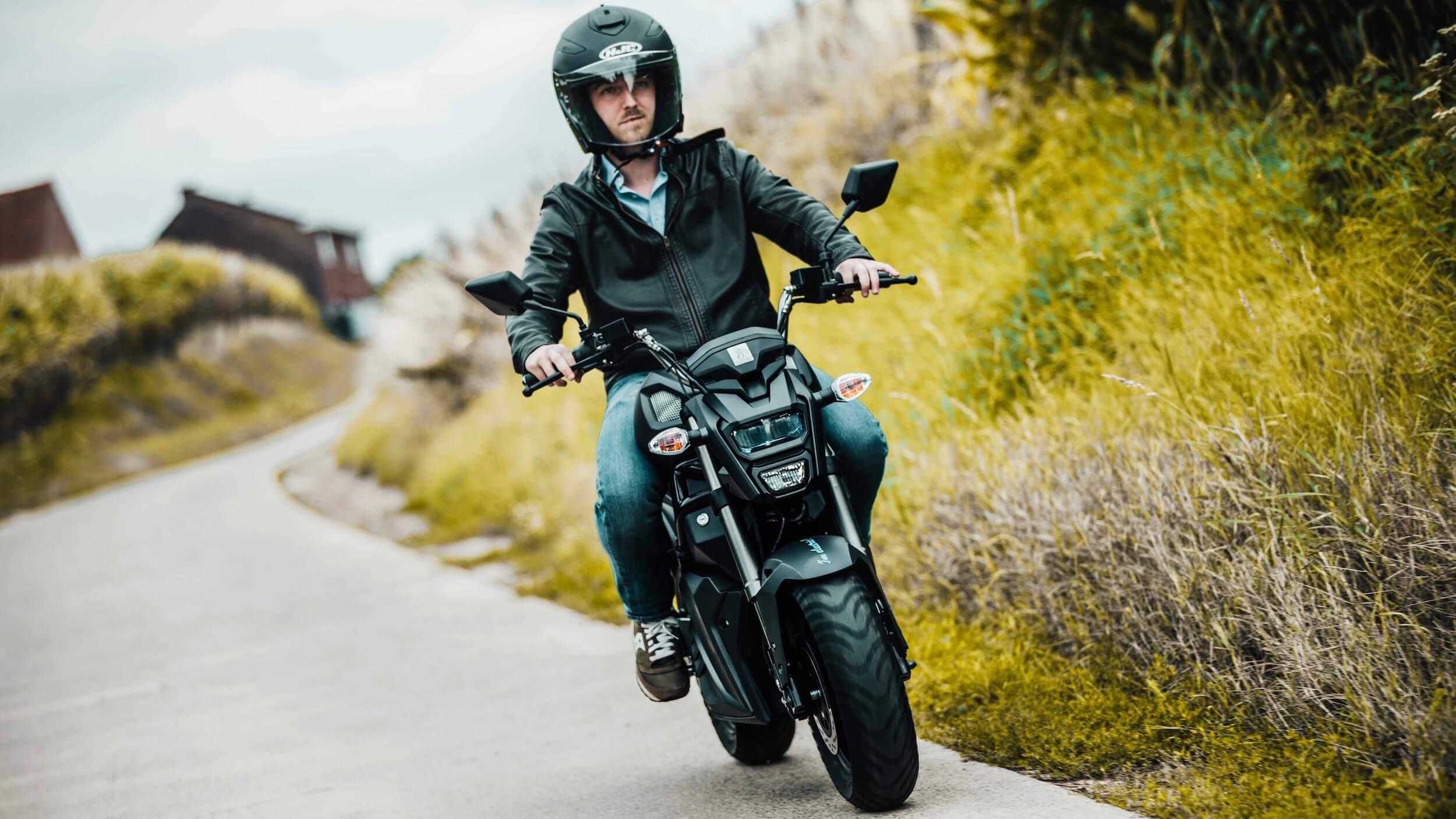Elektra EV Wolf elektrische motorfiets