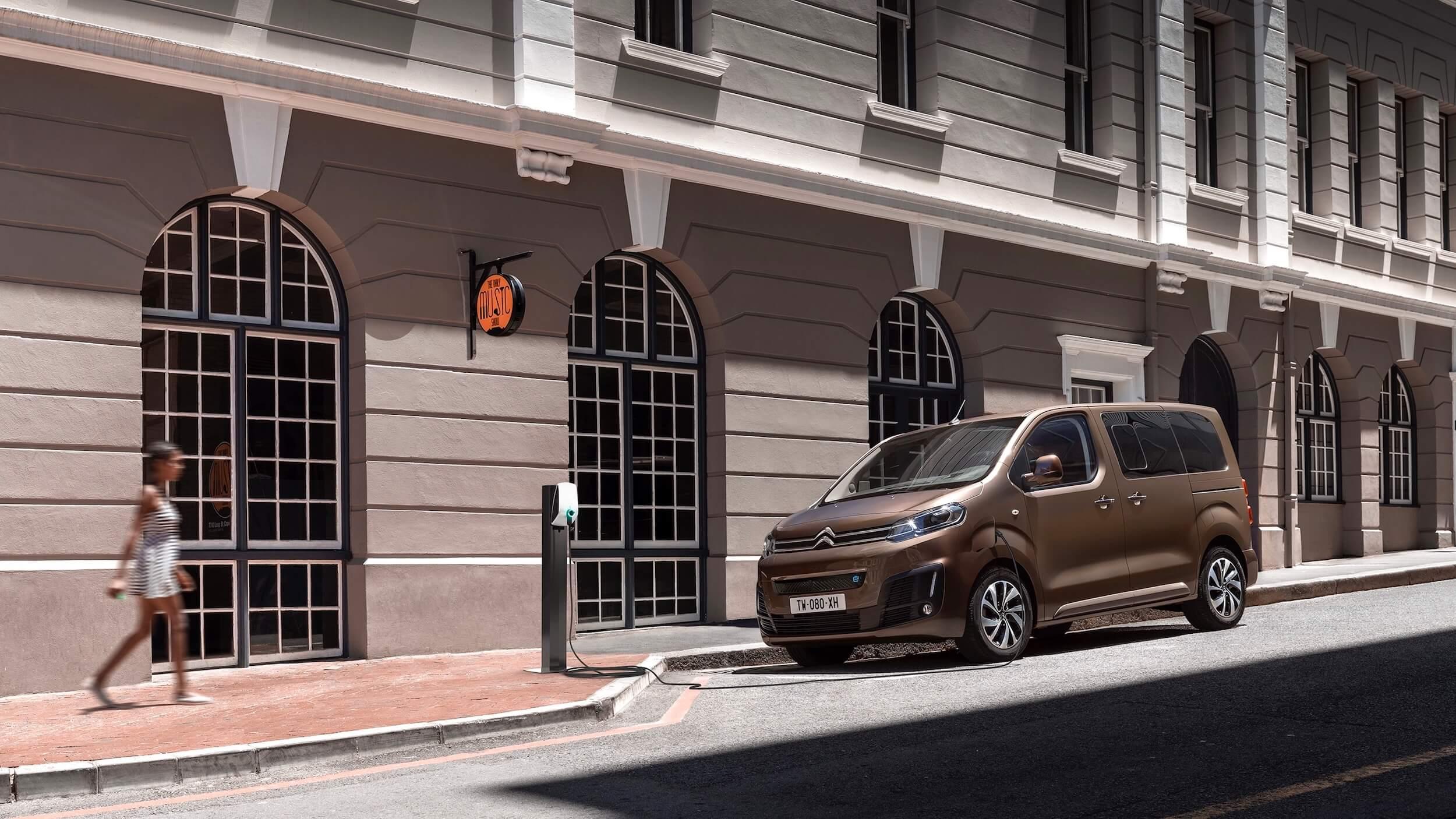 Elektrische Citroën e SpaceTourer