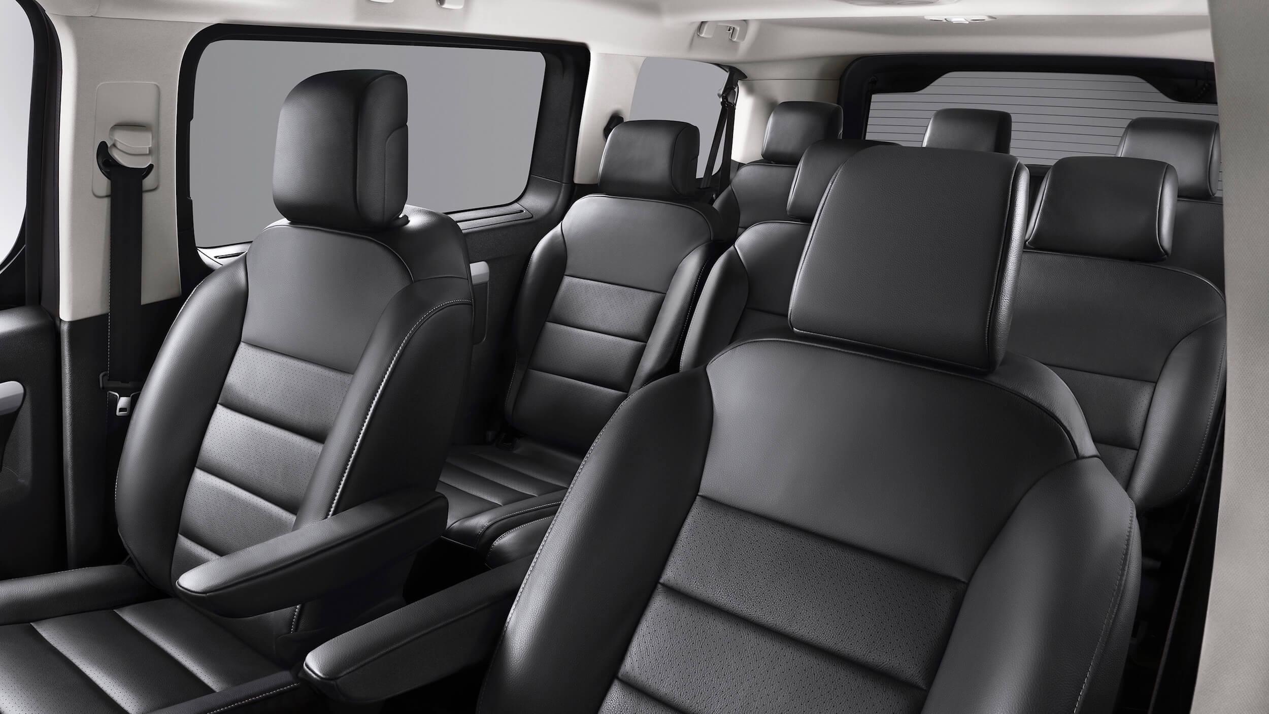 Elektrische Opel Zafira zitplaatsen