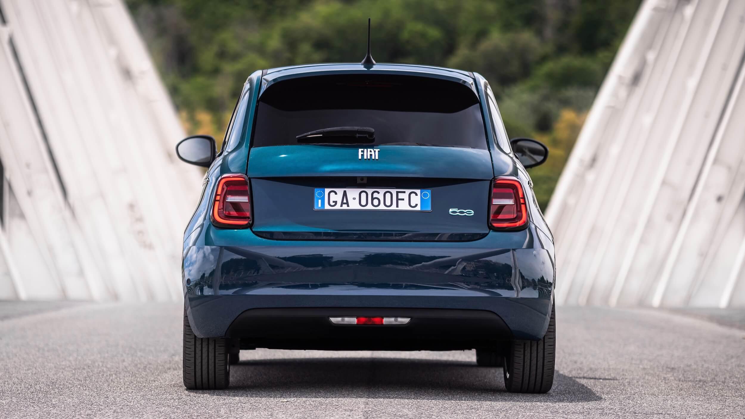 Fiat 500e achterlichten