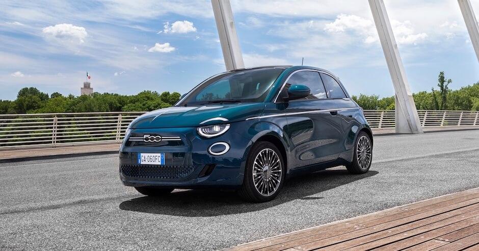 Fiat 500e La Prima profiel