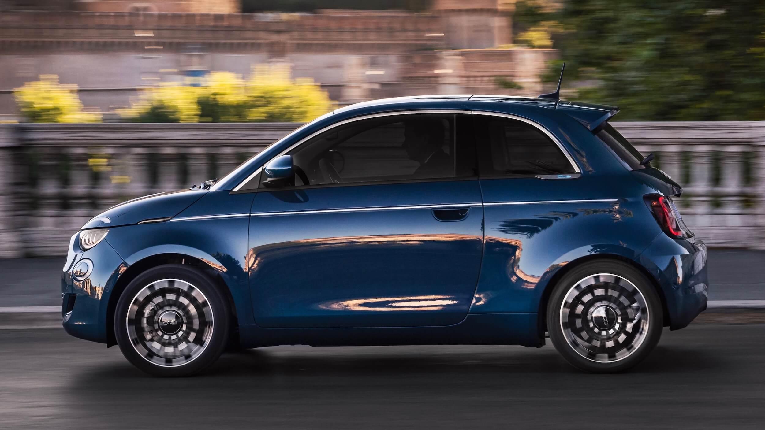 Fiat 500e profiel