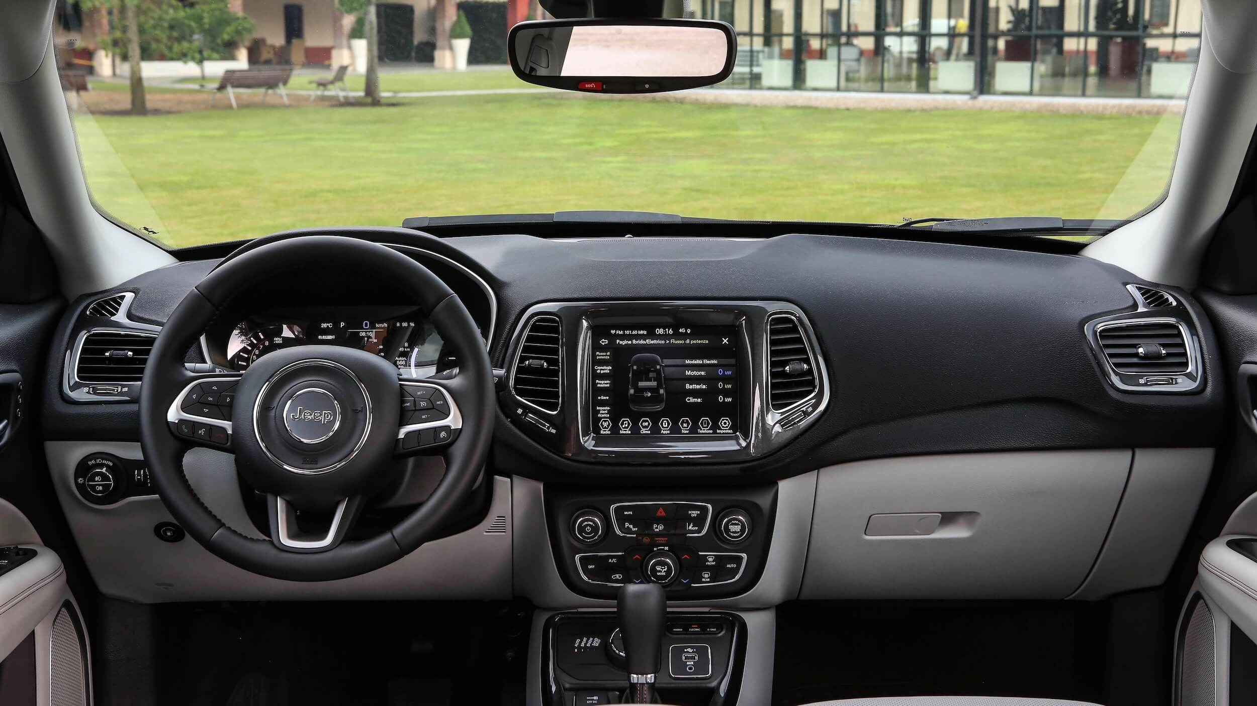 Jeep Compass 4xe interieur