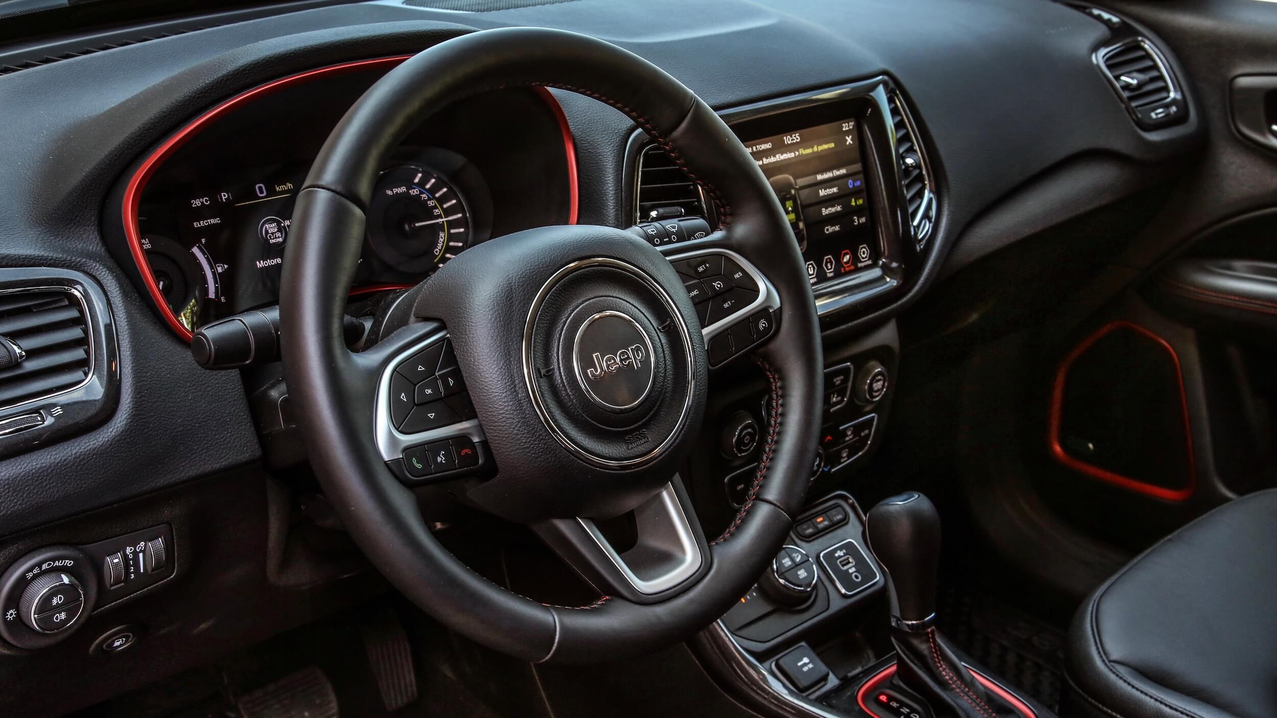 Jeep Compass 4xe stuur