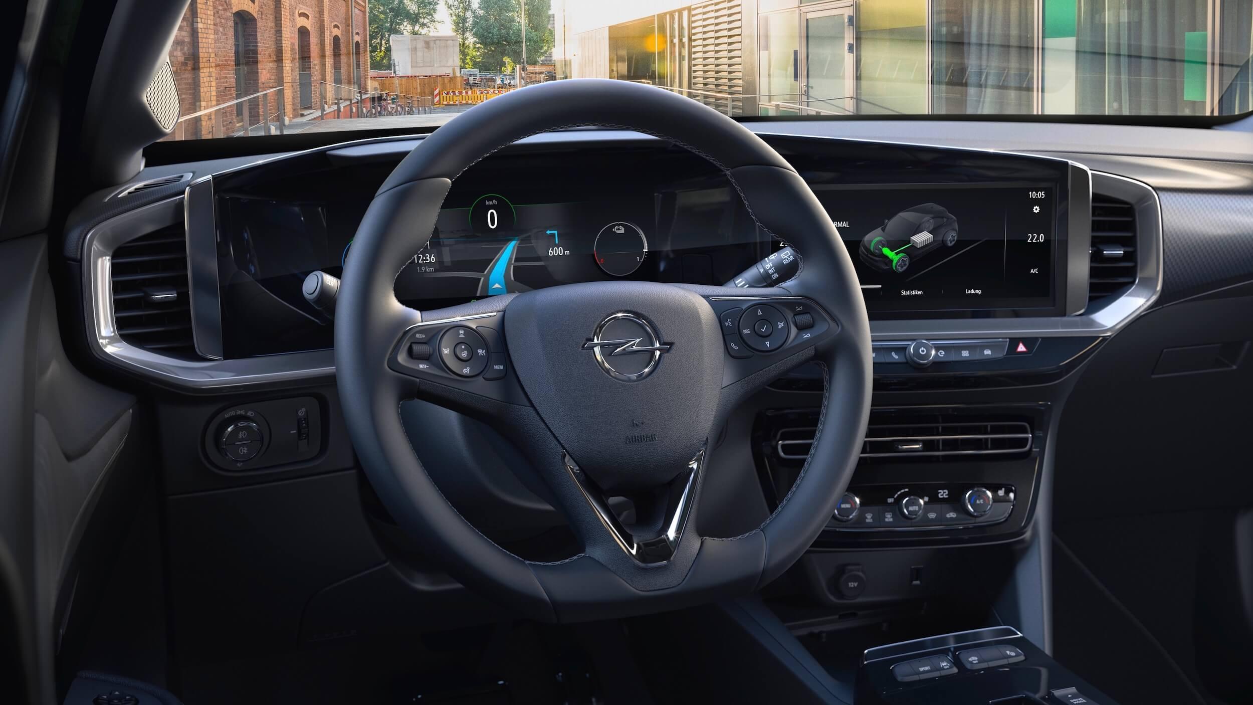 Opel Mokka e dashboard
