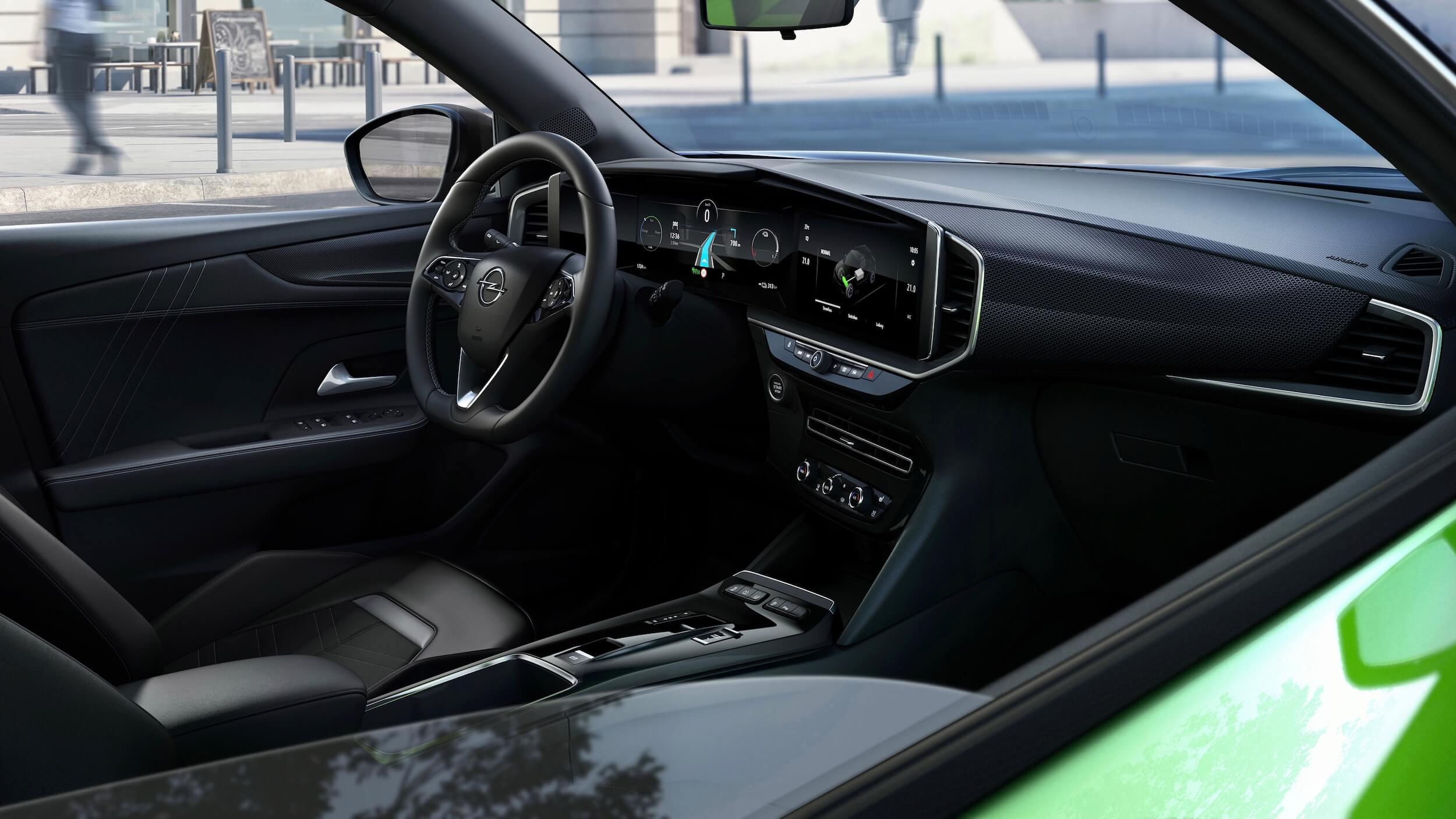Opel Mokka e interieur