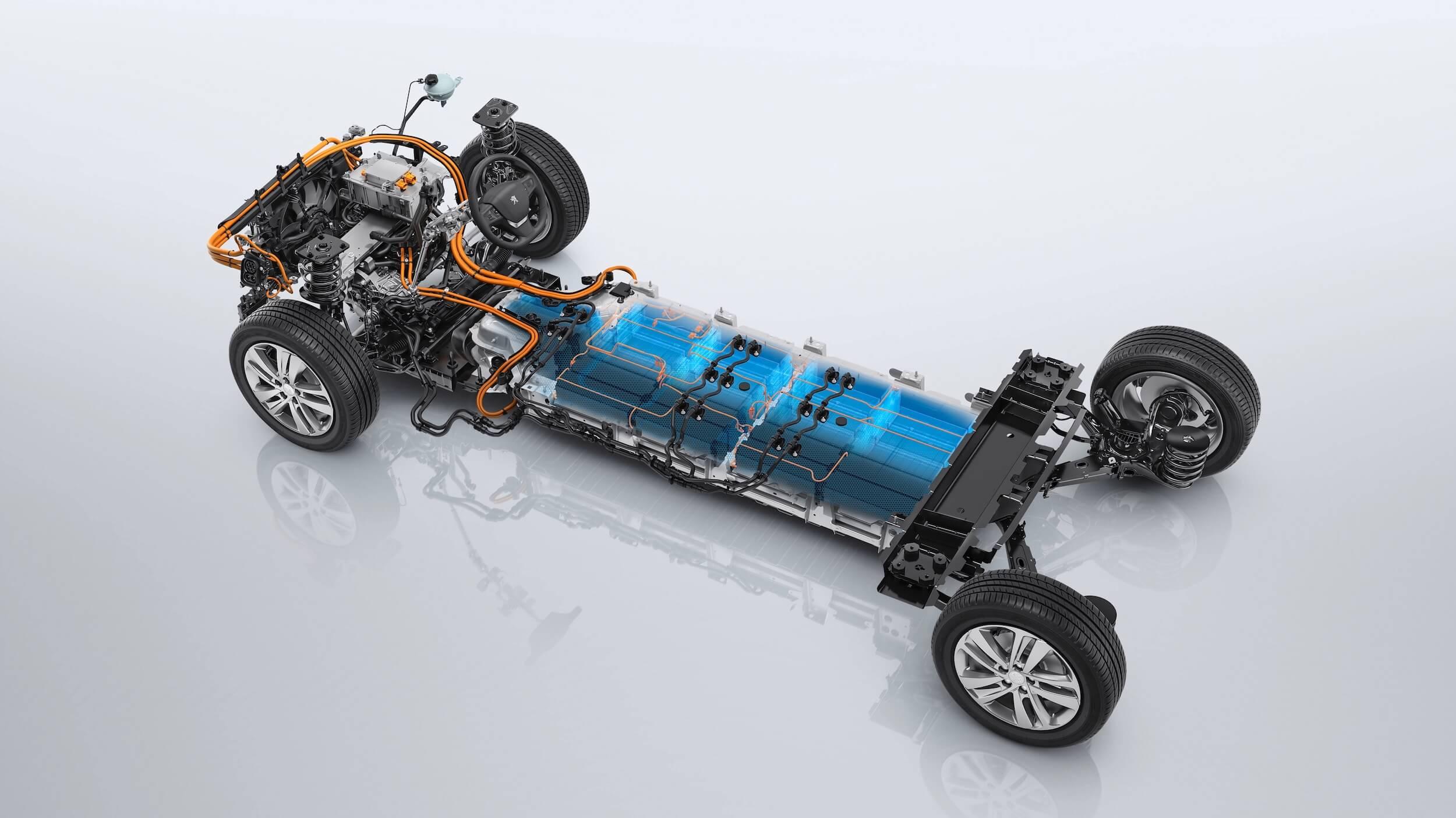 Peugeot e Traveller batterij en aandrijflijn