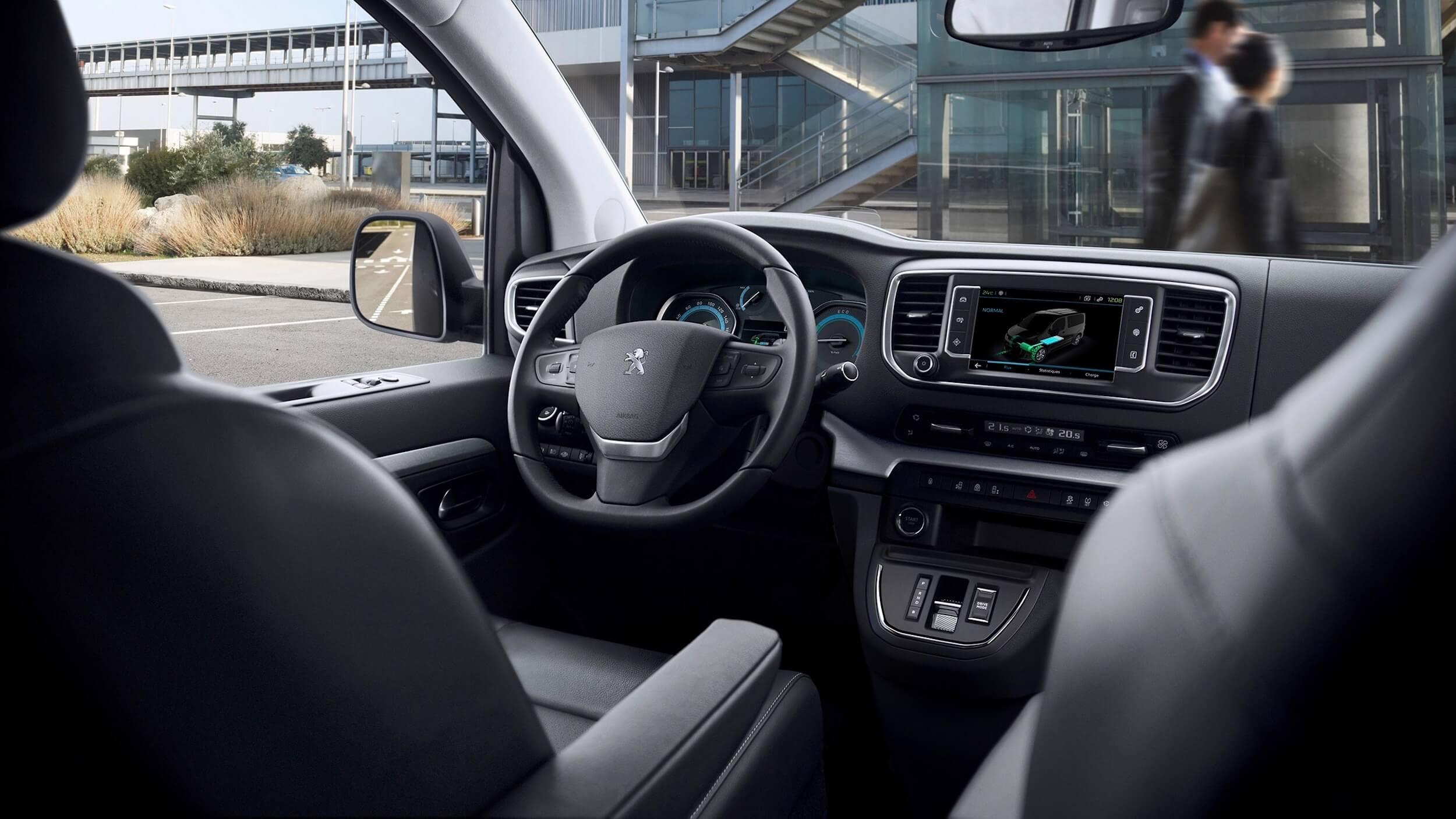 Peugeot e Traveller interieur