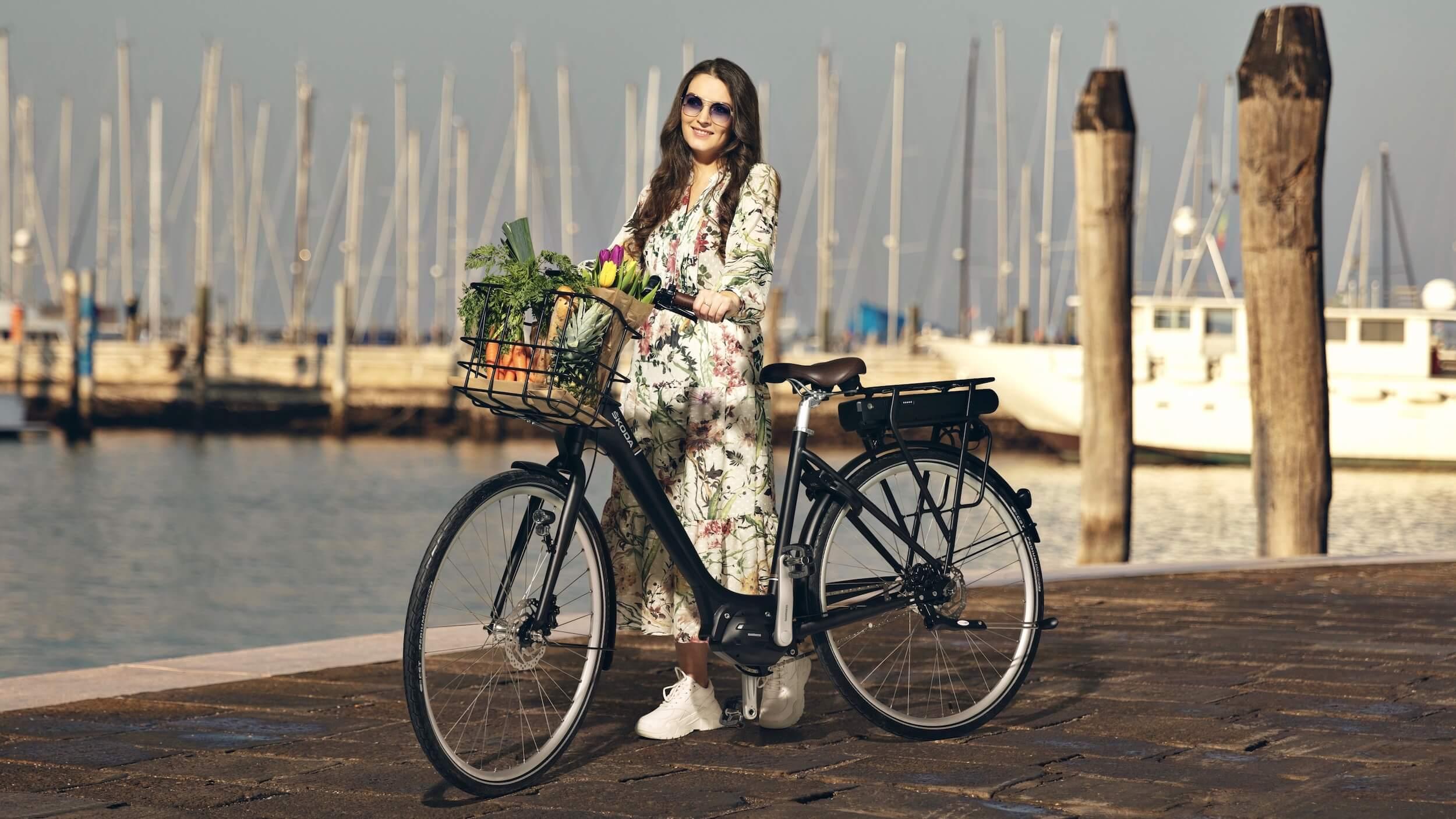Skoda elektrische fiets dames
