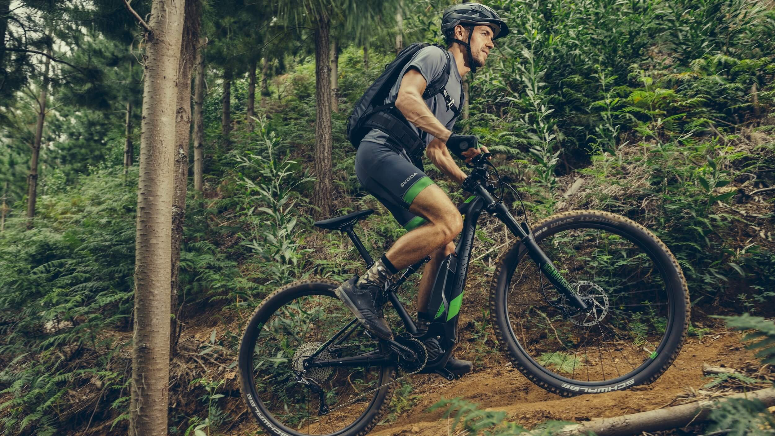 Skoda elektrische mountainbike