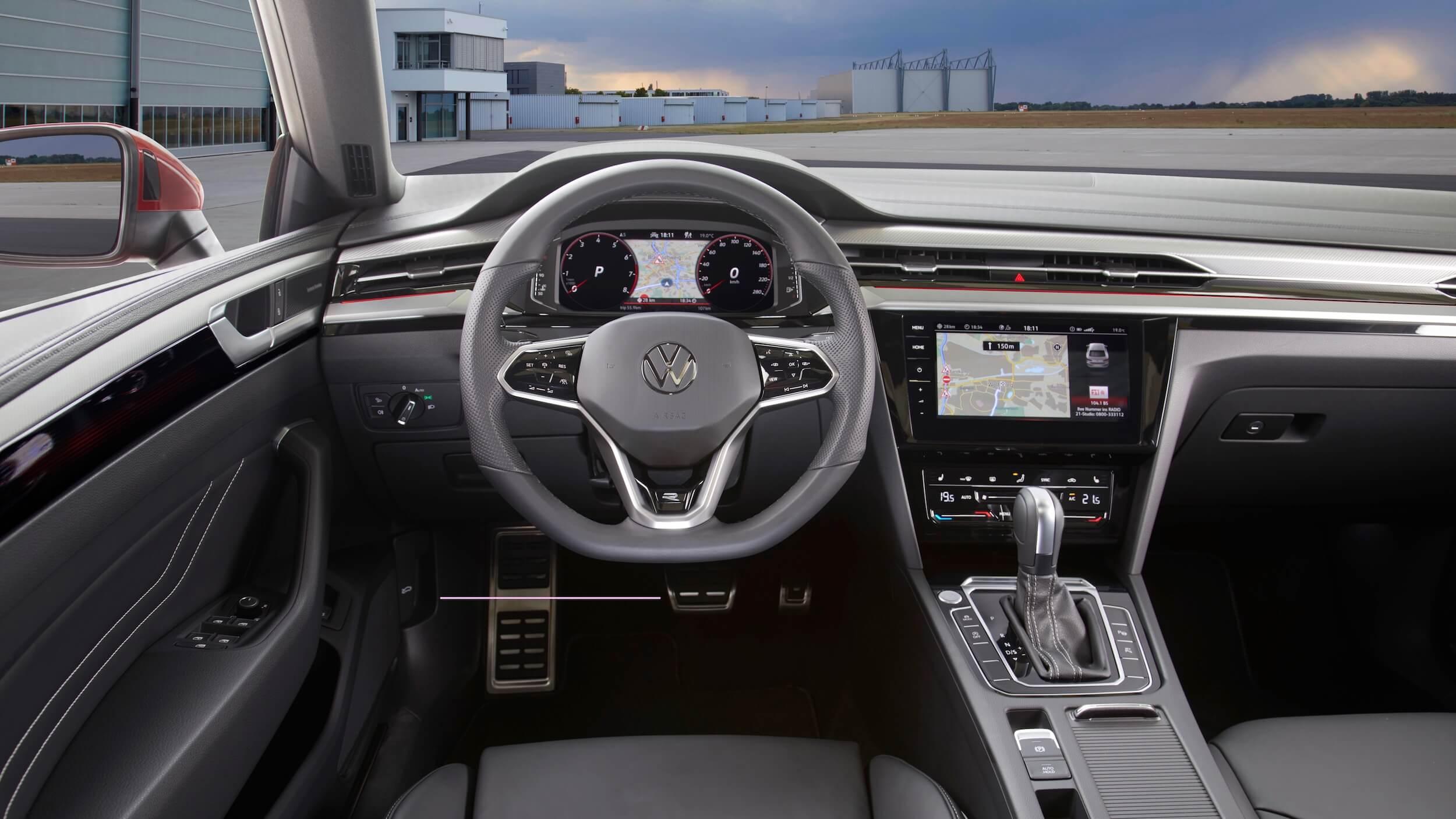 VW Arteon Shooting Break plug in hybride interieur