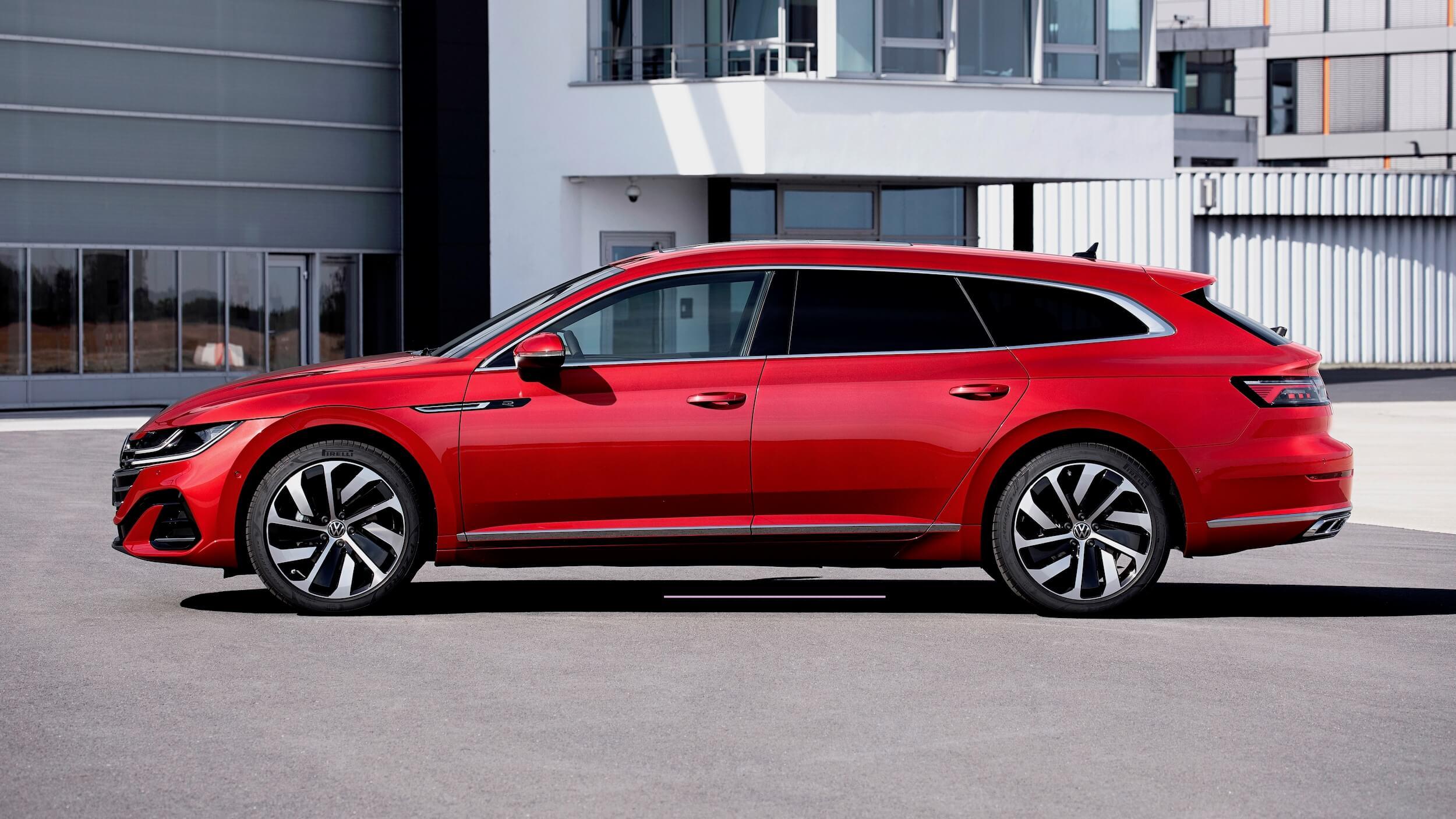 VW Arteon Shooting Break profiel