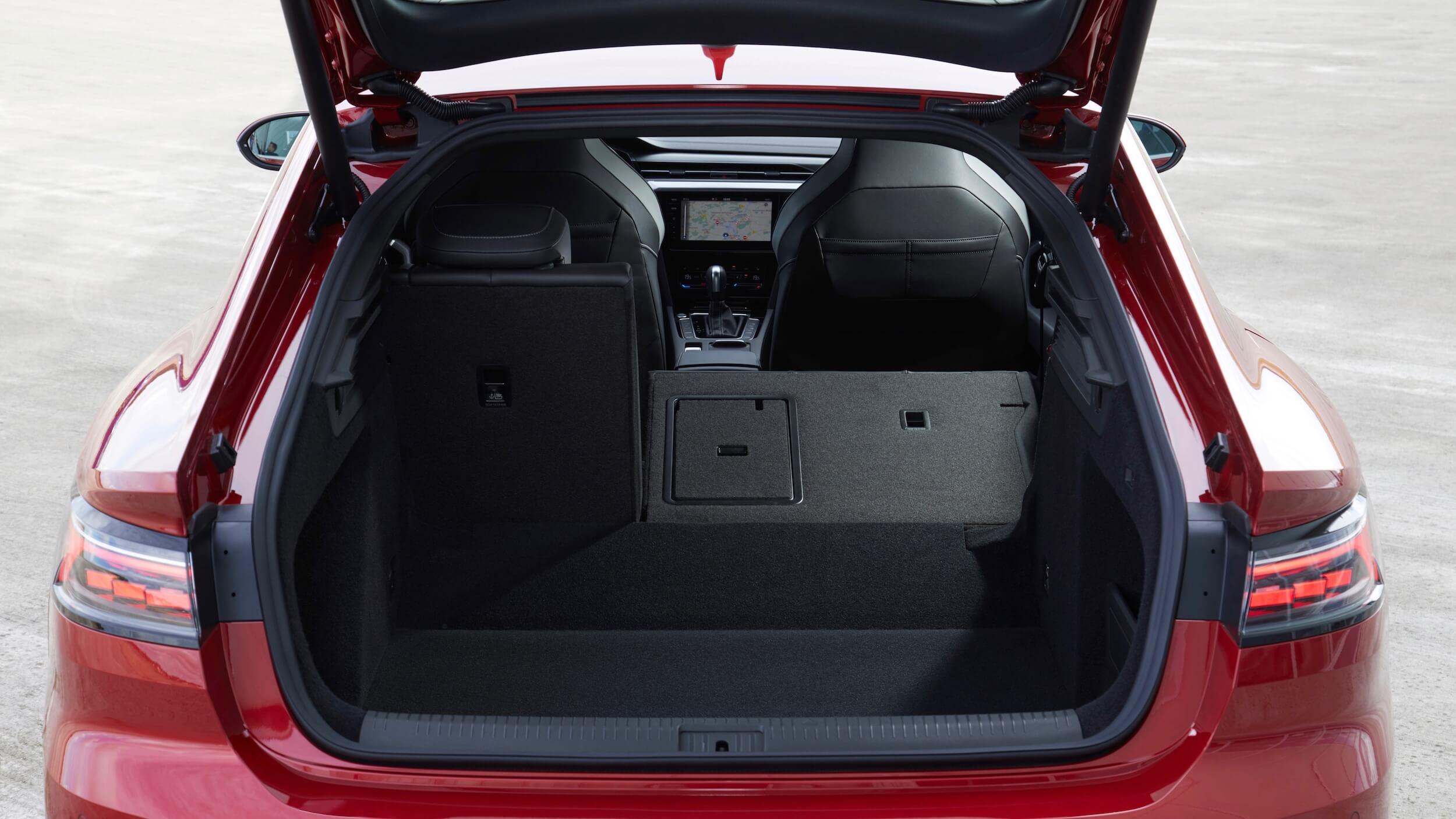 VW Arteon eHybrid kofferruimte