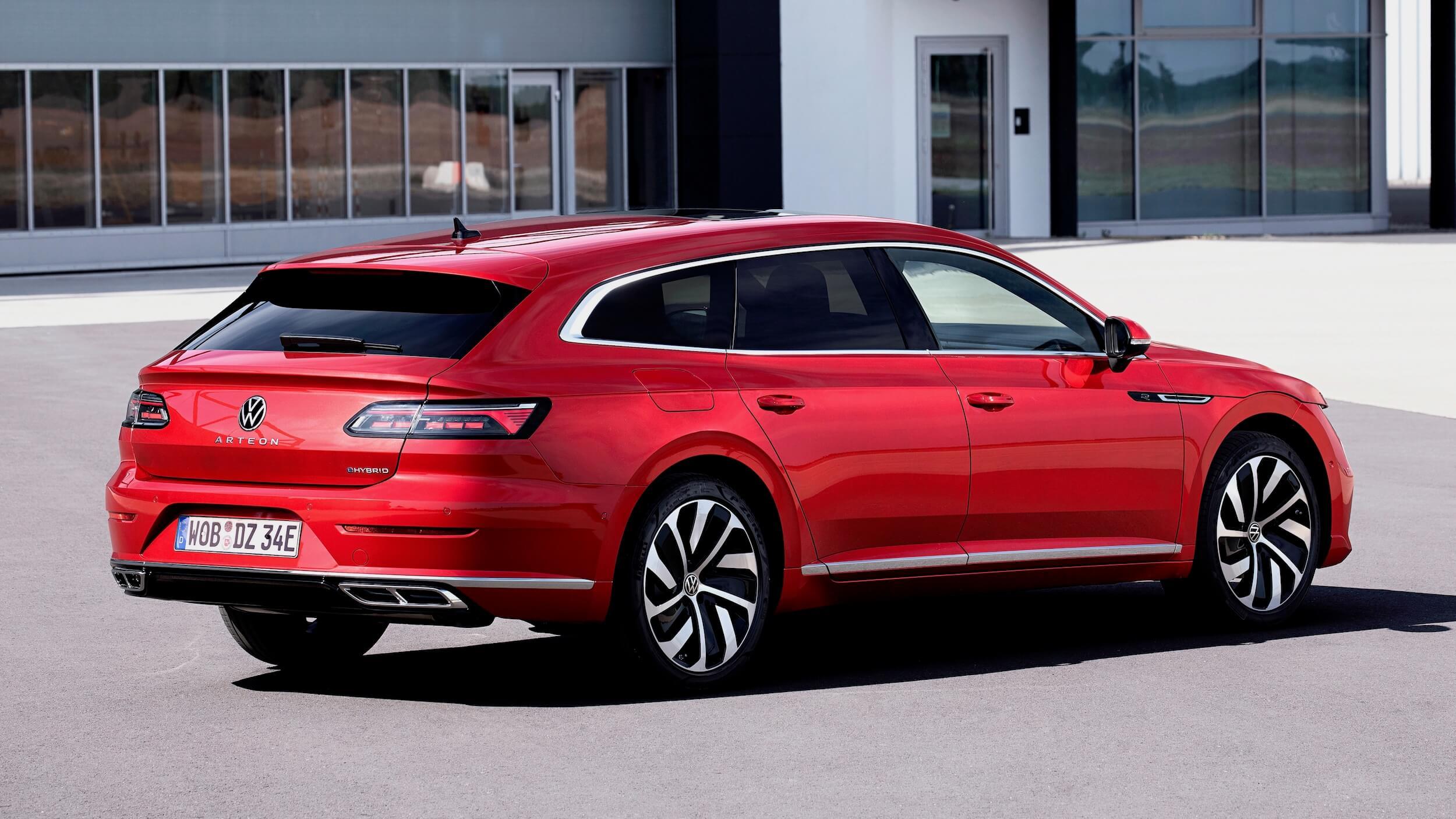 Volkswagen Arteon Shooting Break plug in hybride