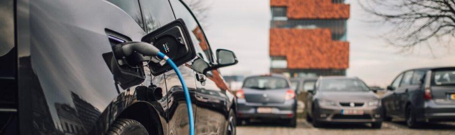 elektrische auto opladen Eilandje Antwerpen