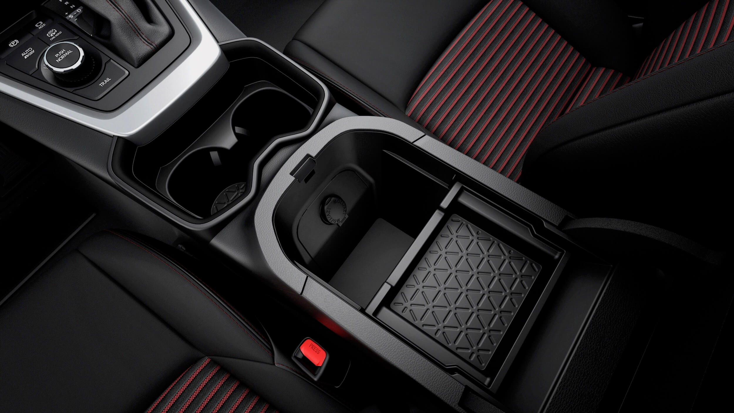 Suzuki Across PHEV middenconsole