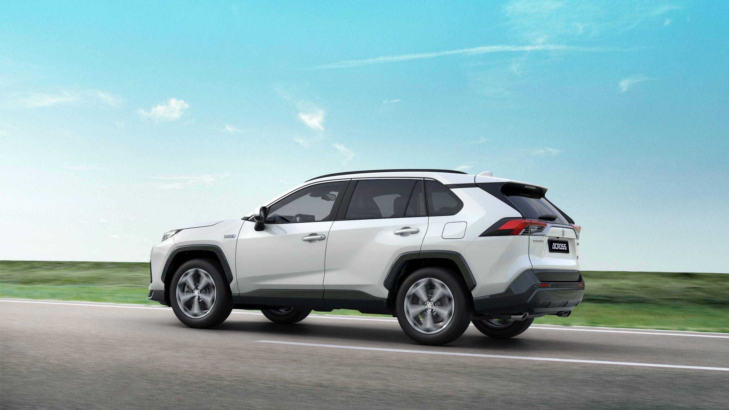 Suzuki Across plug in hybride
