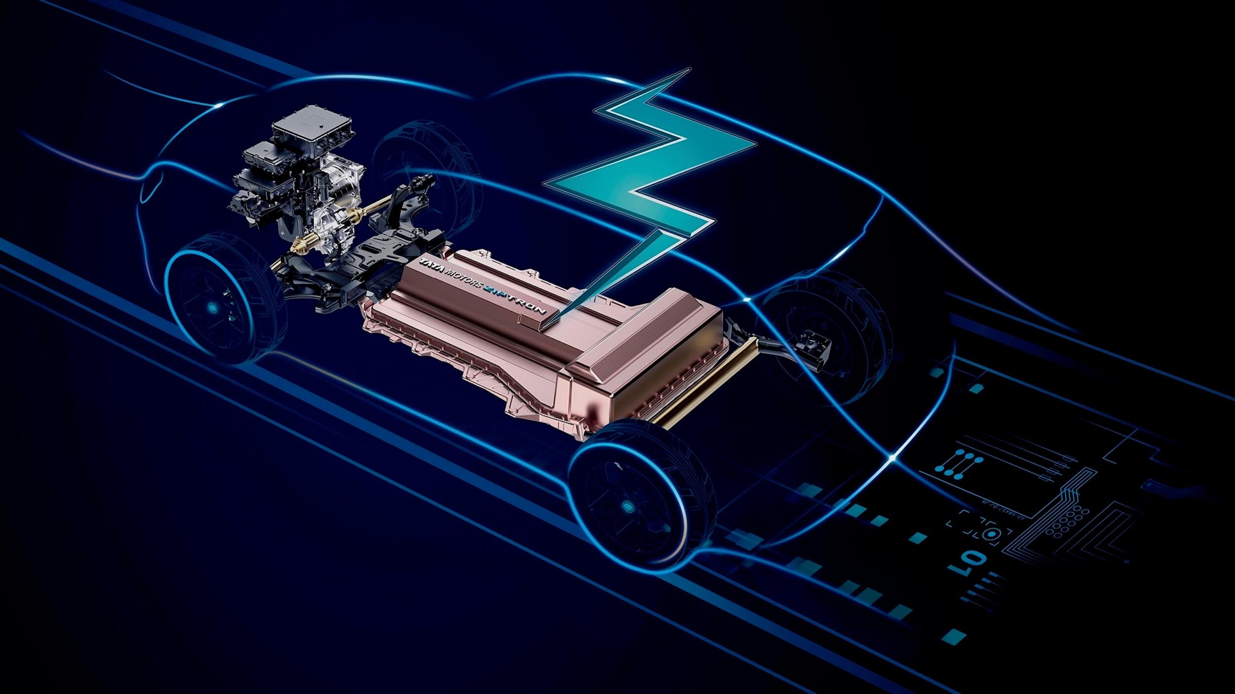 Tata Nexon EV Ziptron batterij