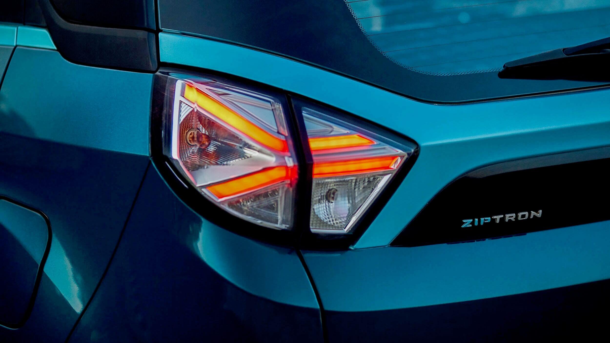 Tata Nexon EV achterlicht