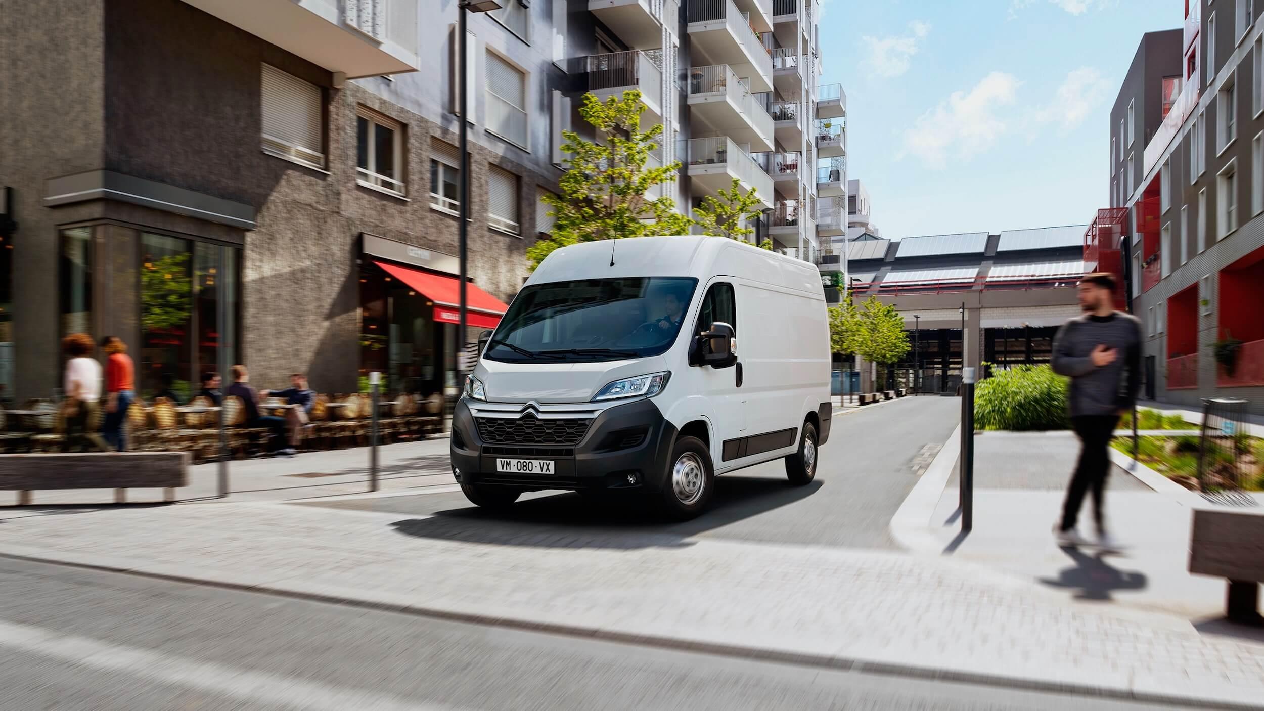 Citroën Jumper elektrische bestelwagen