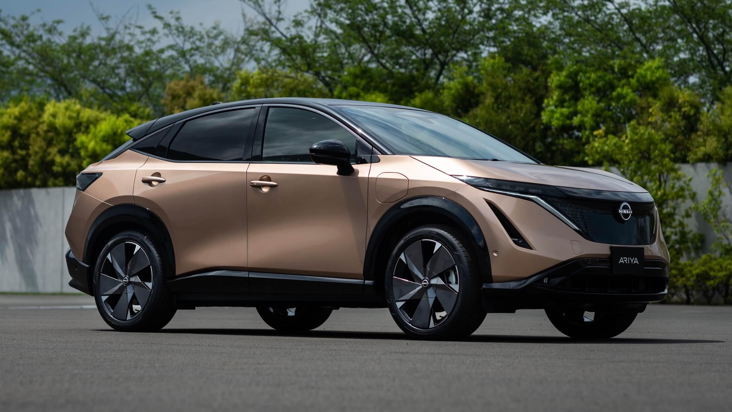 Elektrische Nissan Ariya