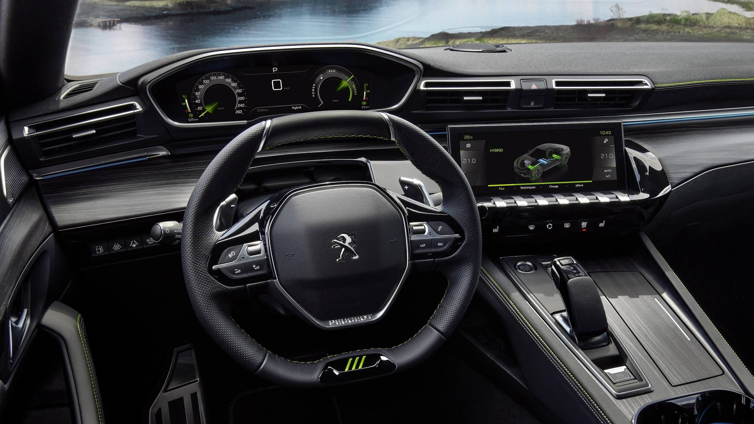 Hybride Peugeot 508 Sport Engineered interieur