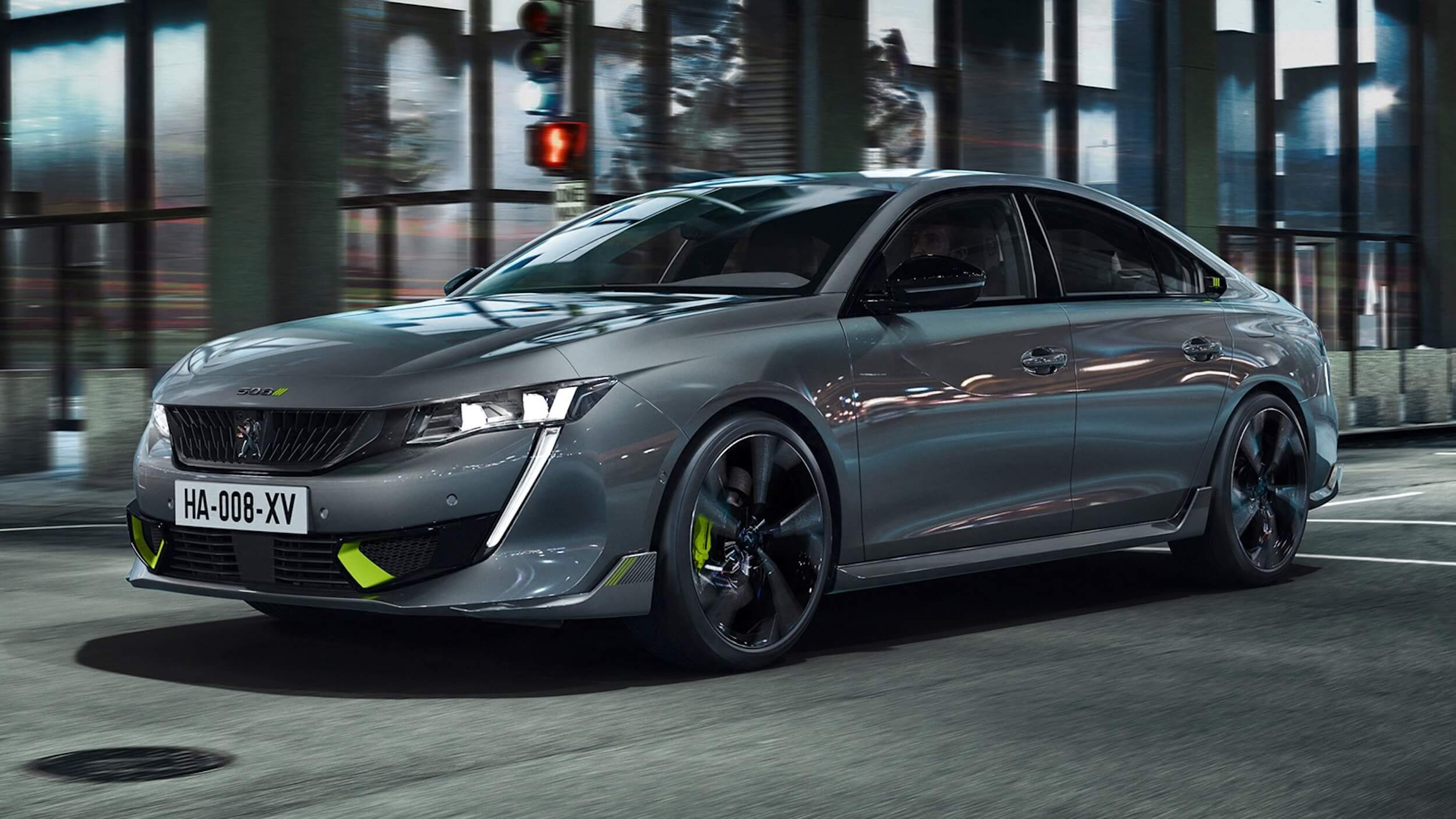 Hybride Peugeot 508 Sport Engineered
