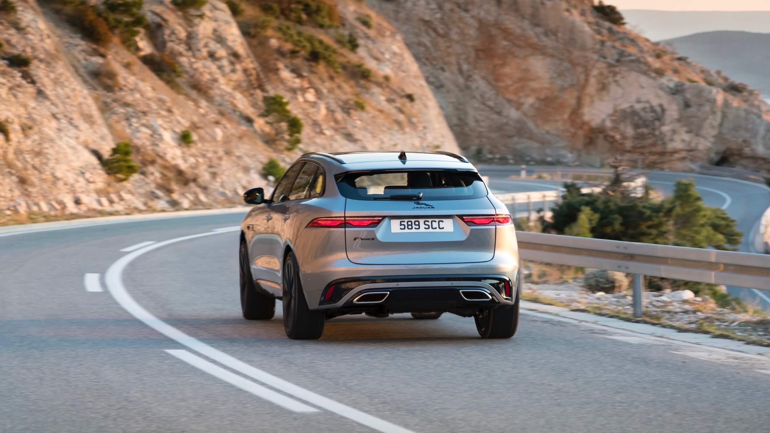 Jaguar F Pace facelift achterkant