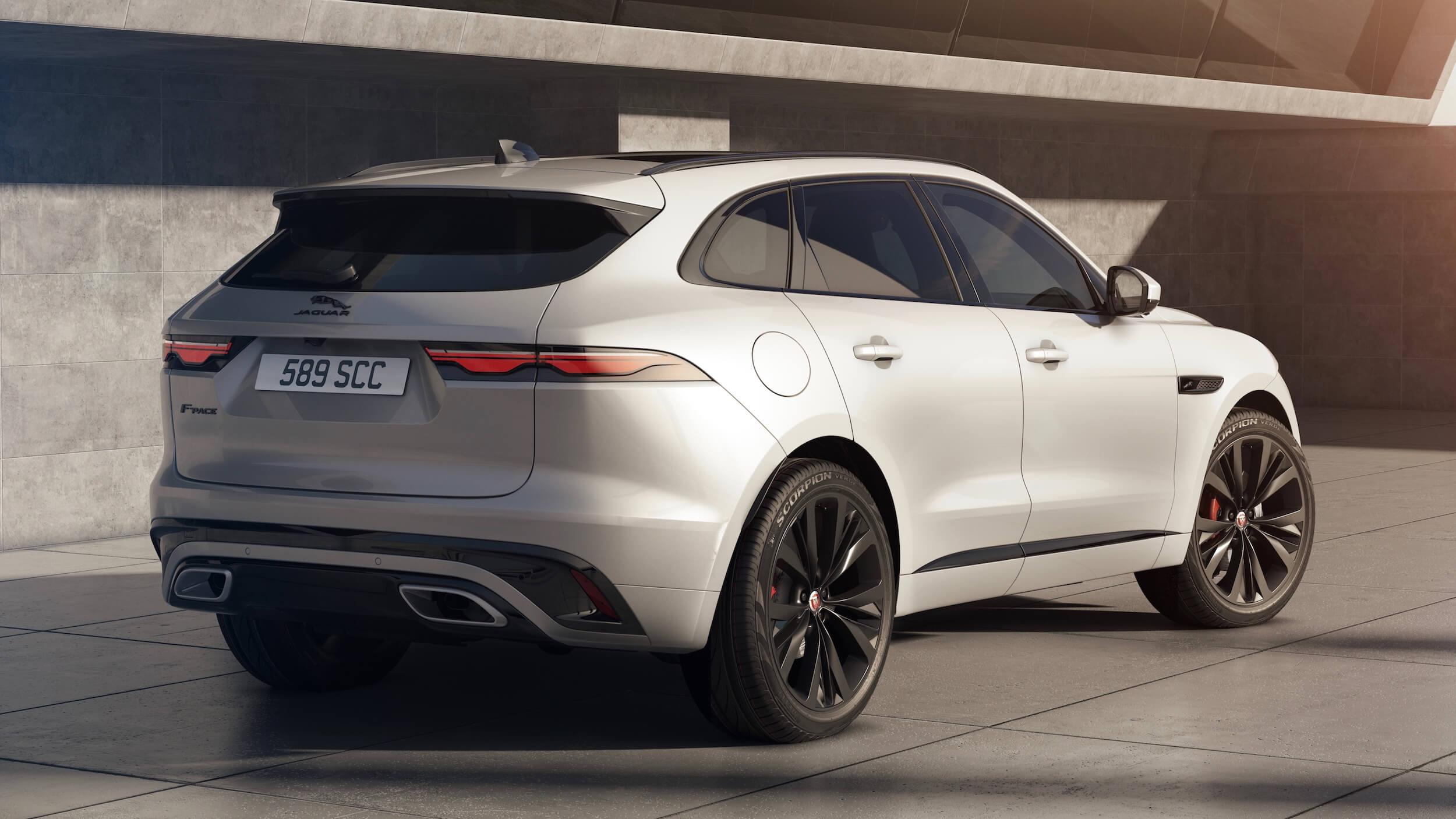 Jaguar F Pace facelift
