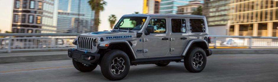 Jeep Wrangler plug in hybride