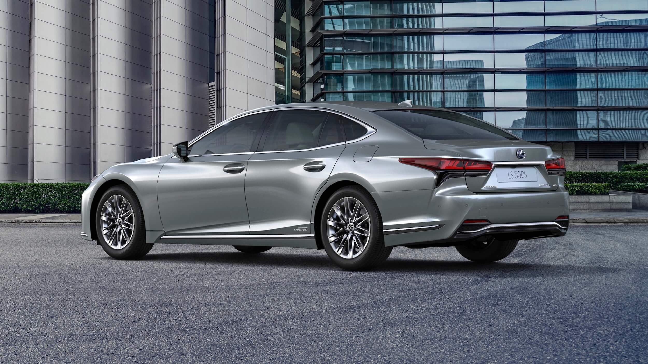 Lexus LS 500h XF50 facelift grijs