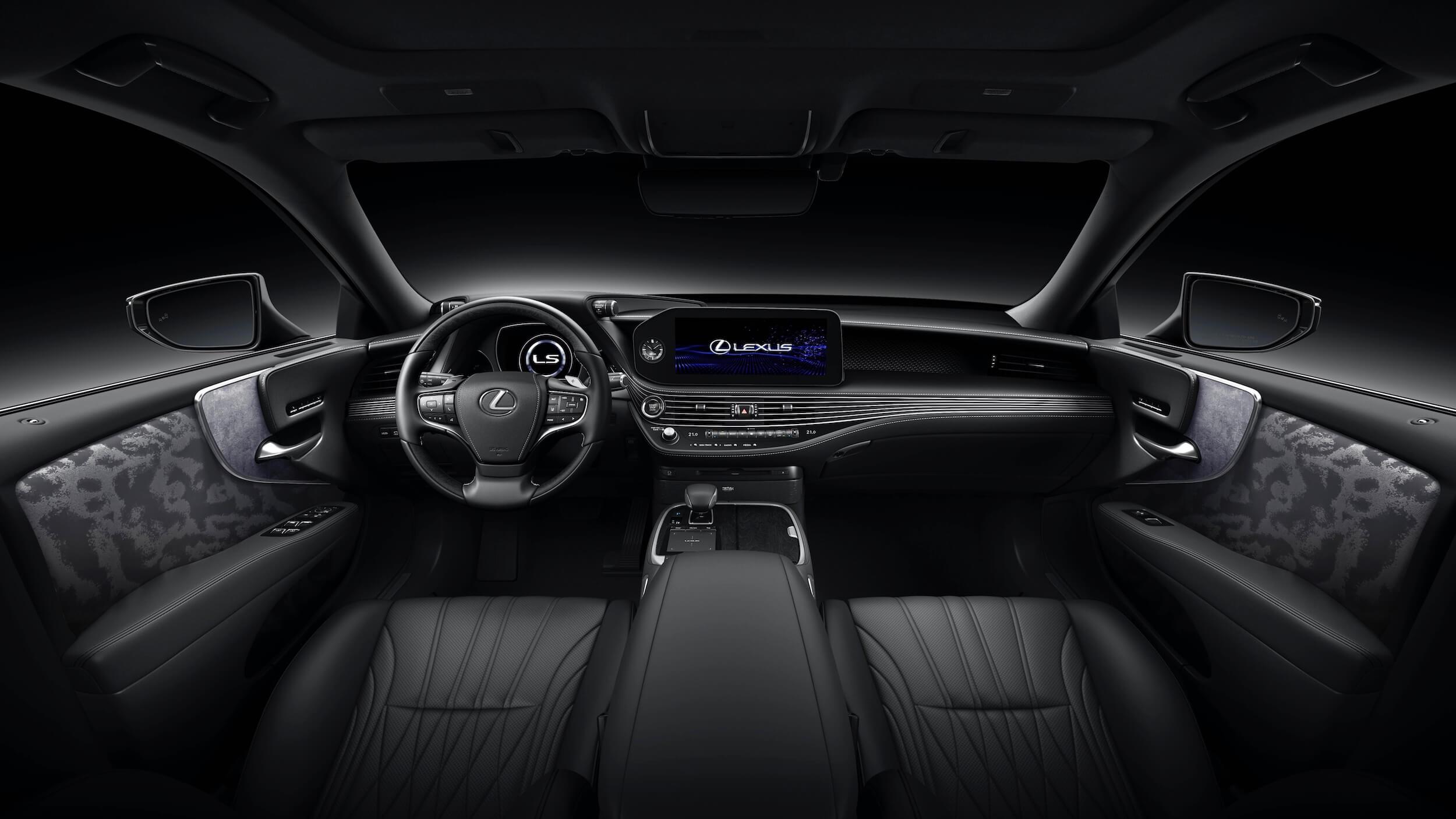 Lexus LS 500h XF50 facelift interieur