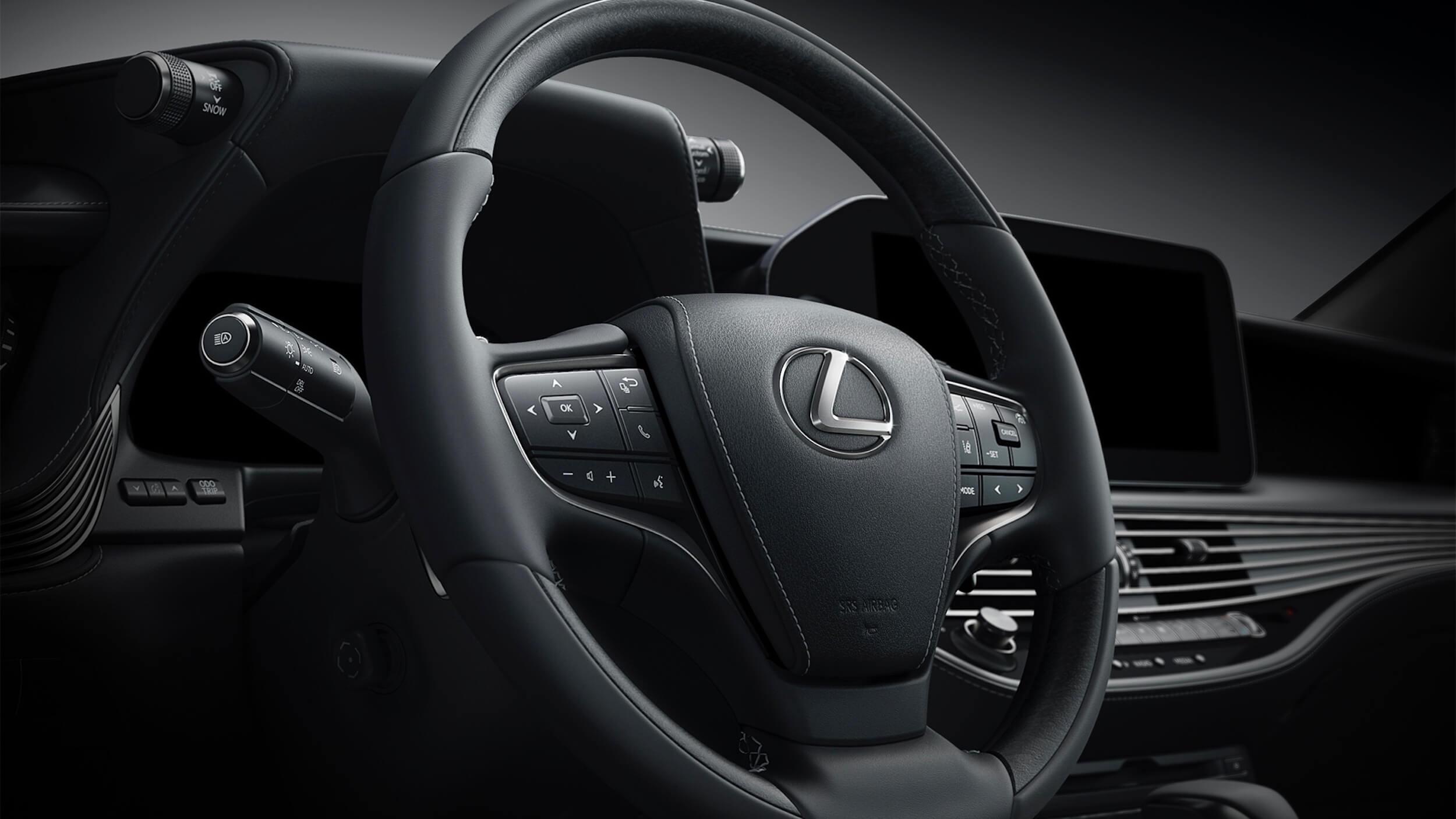 Lexus LS 500h XF50 facelift stuur