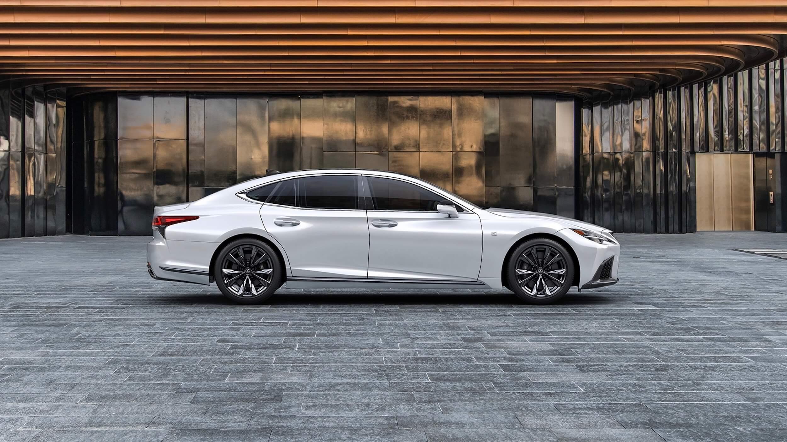 Lexus LS 500h XF50 facelift