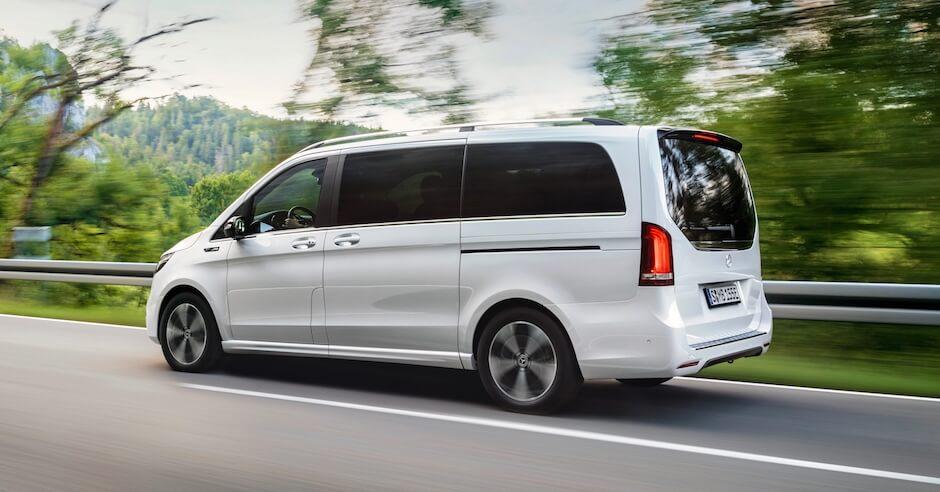 Mercedes EQV elektrische minibus