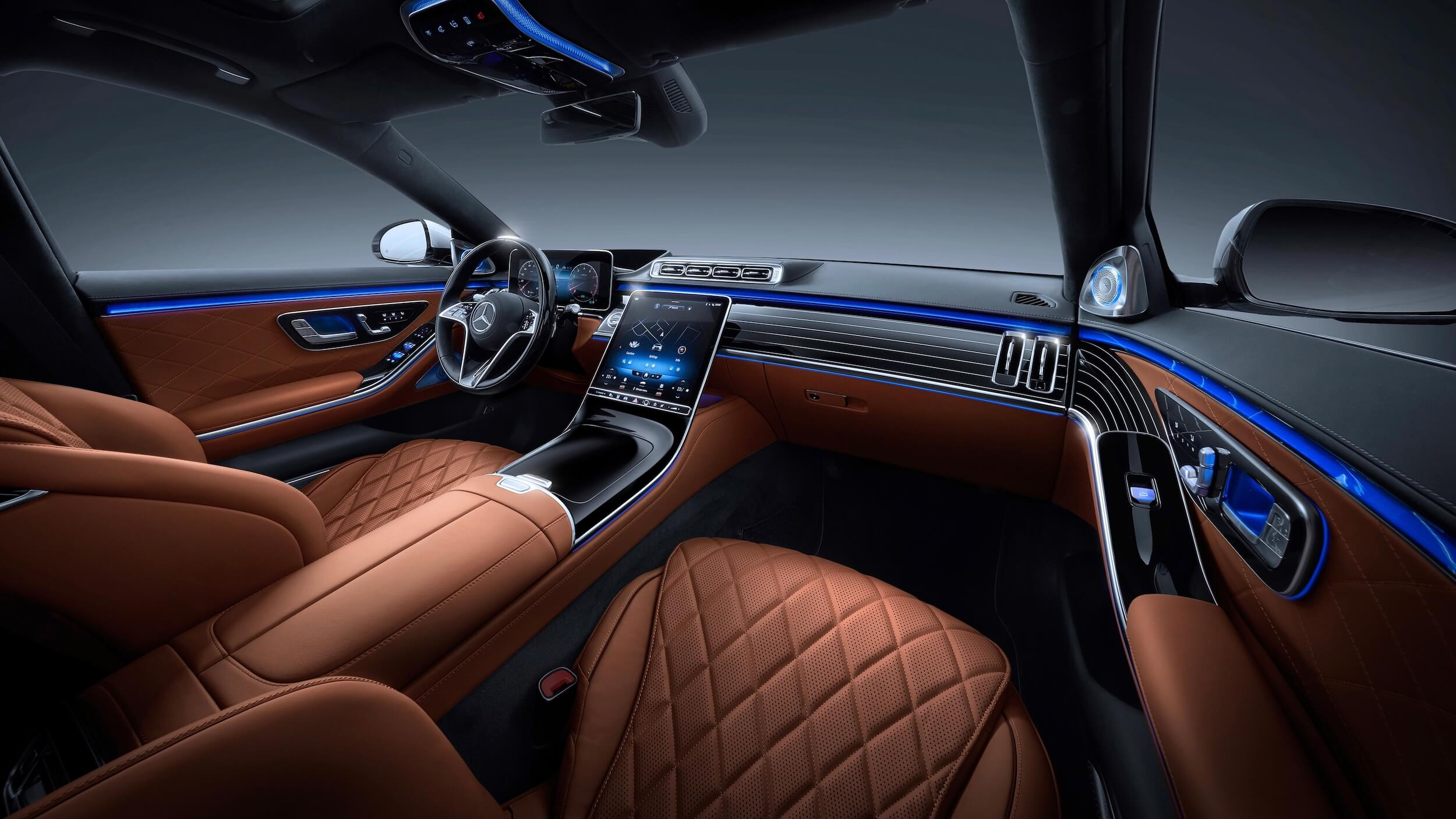 Mercedes S 580e dashboard