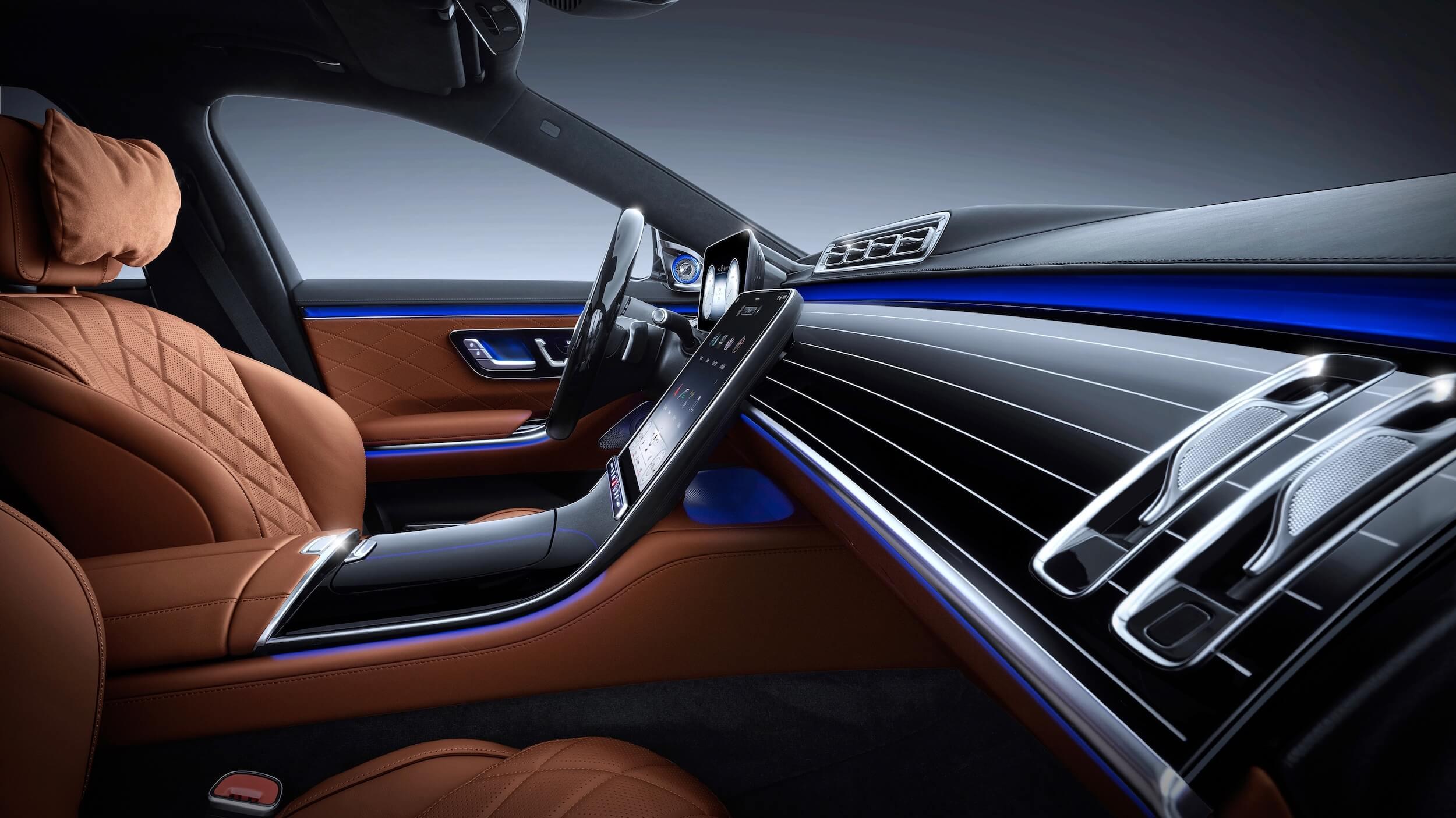 Mercedes S 580e interieur