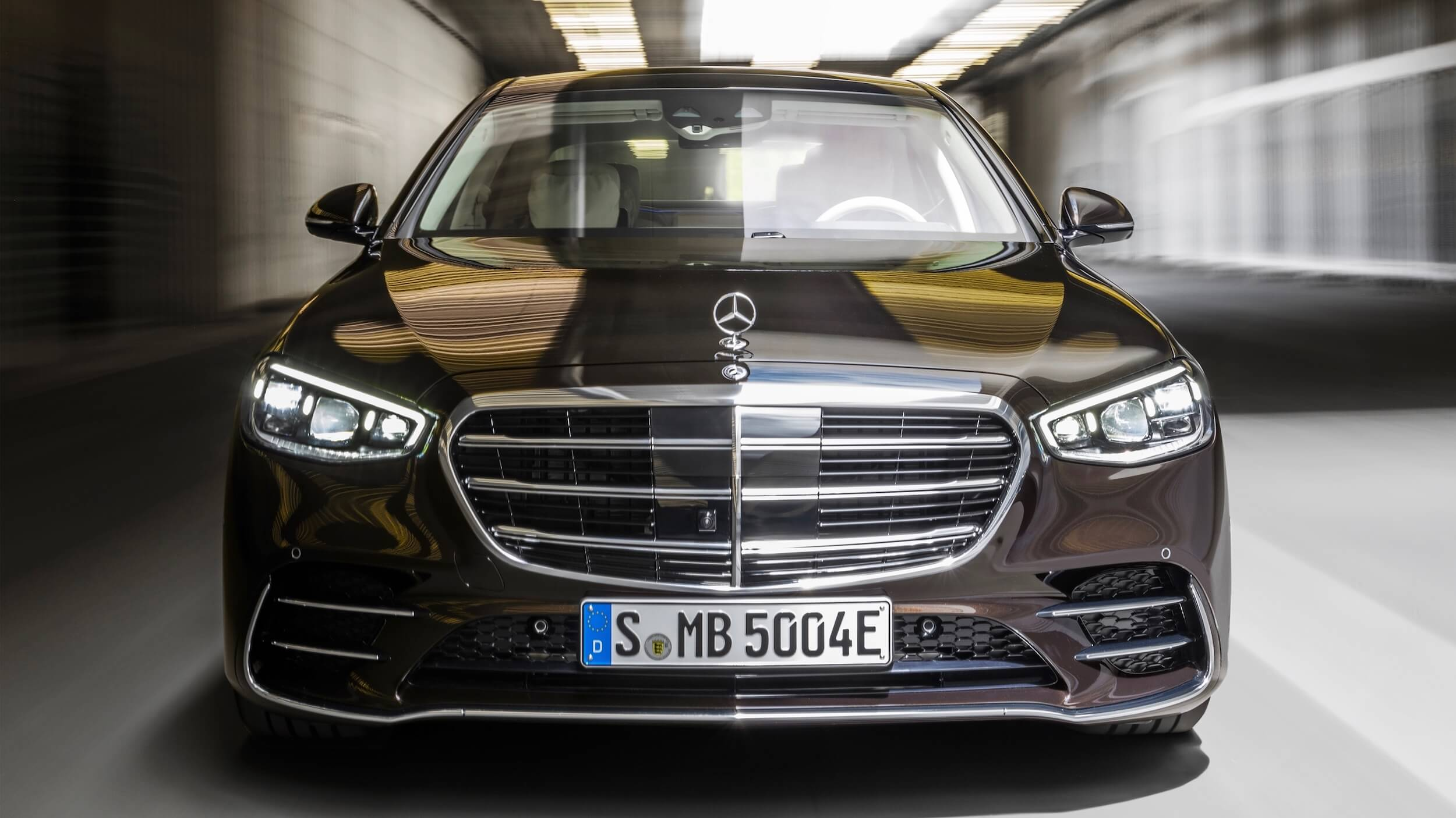 Mercedes S 580e voorkant
