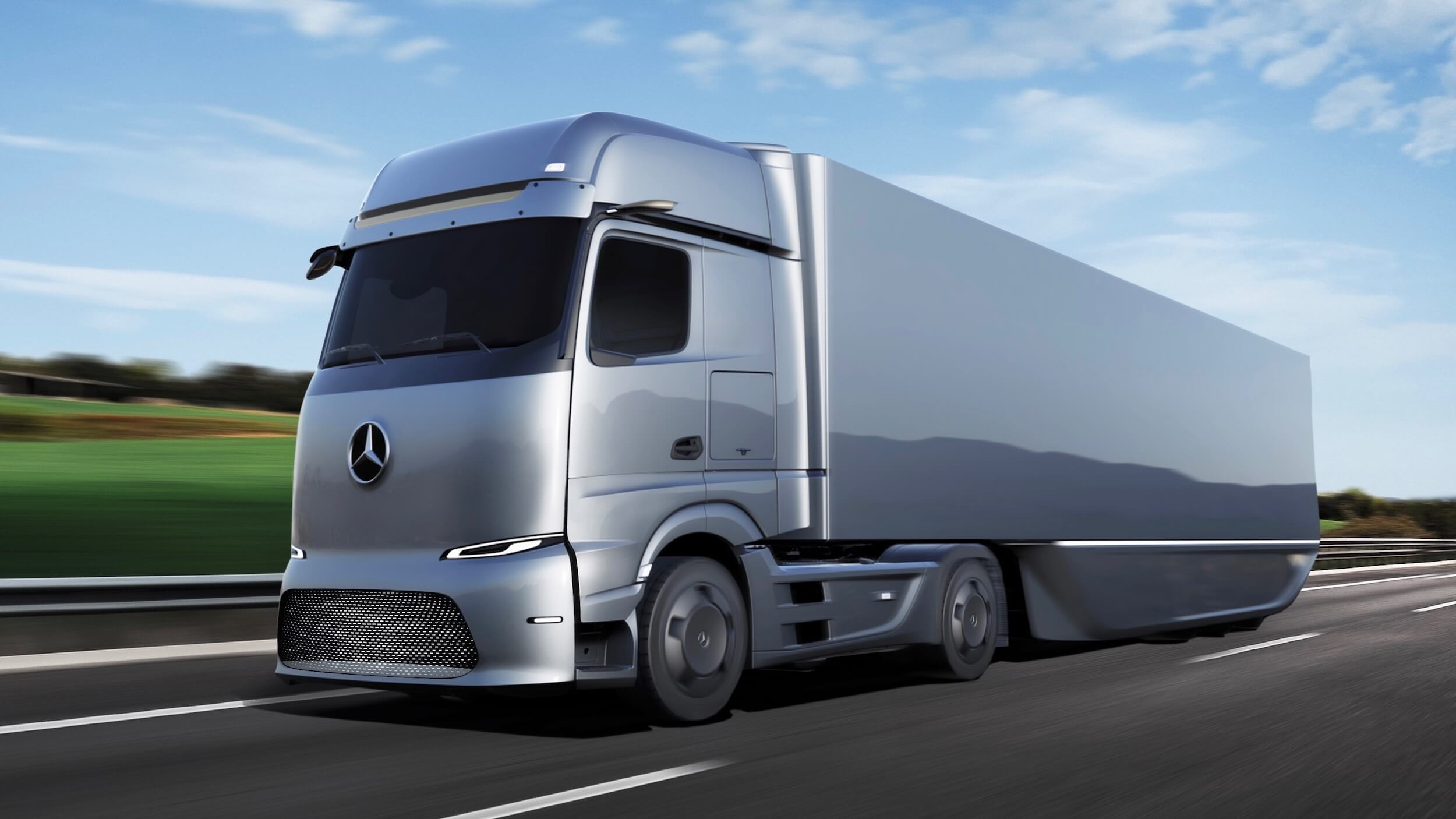 Mercedes eActros elektrische vrachtwagen
