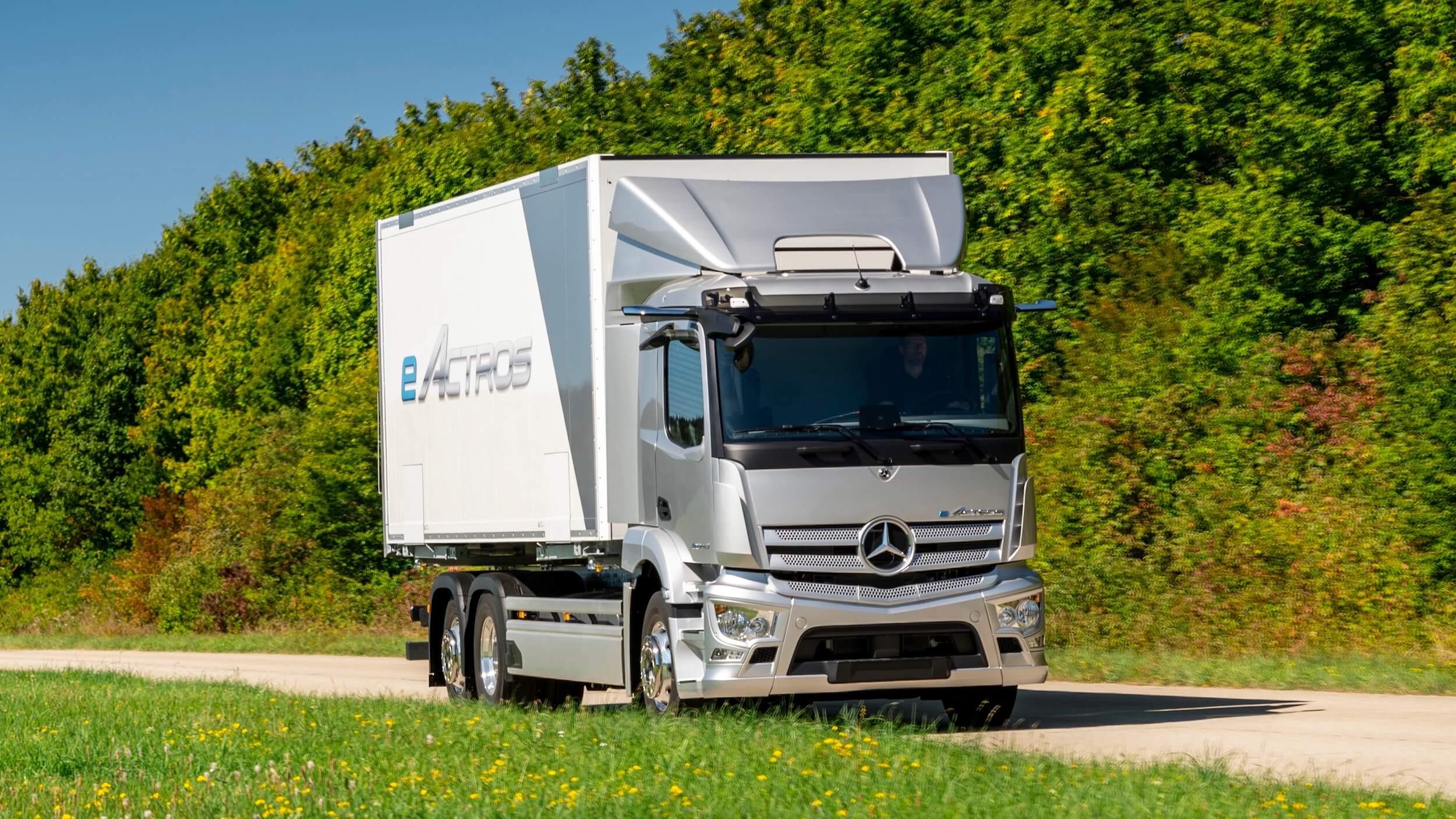 Mercedes eActross e truck