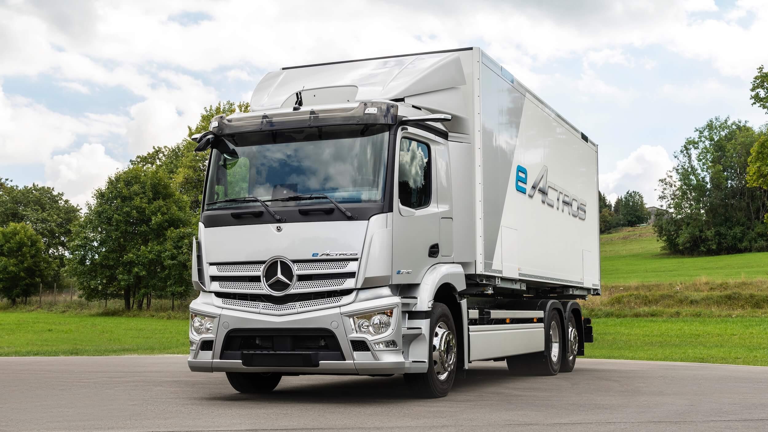 Mercedes eActross elektrische truck