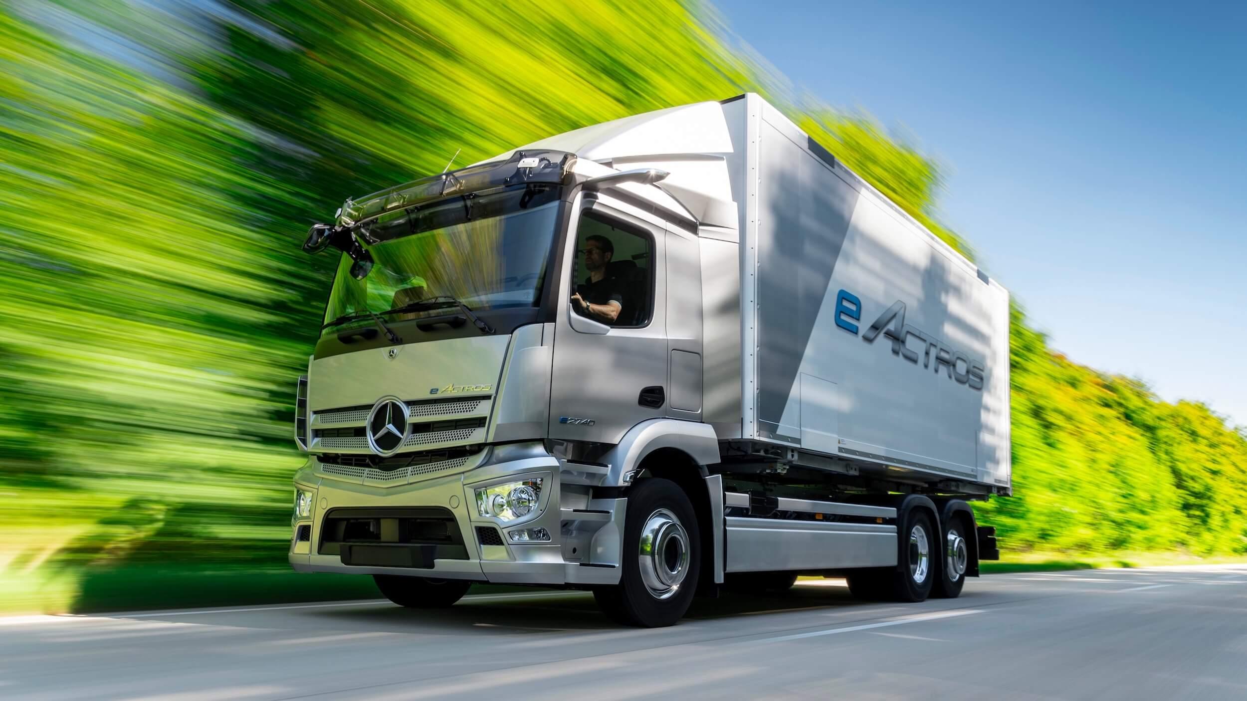 Mercedes eActross elektrische vrachtwagen