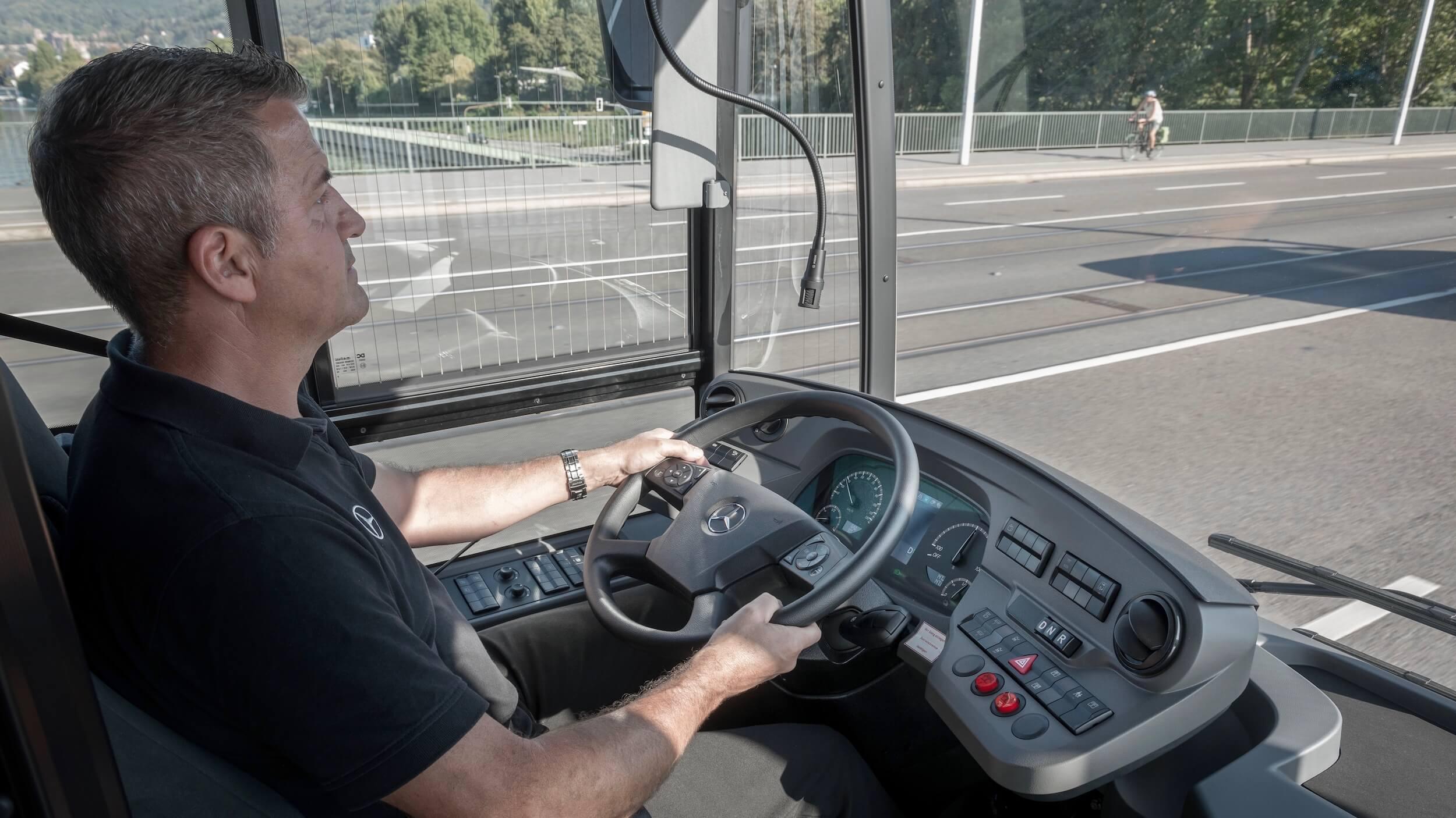 Mercedes eCitaro G bestuurder