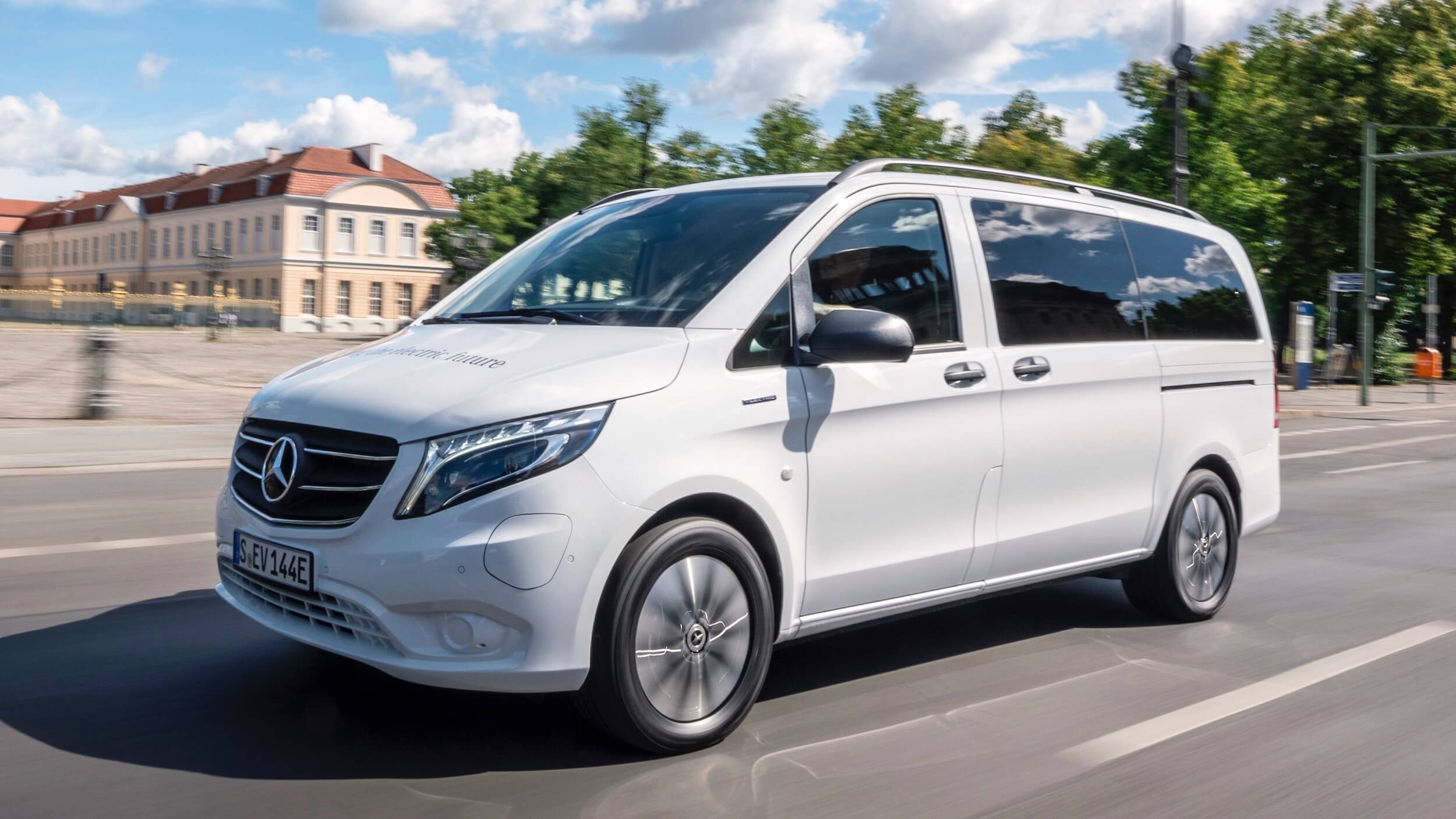 Mercedes eVito Tourer 90 kWh