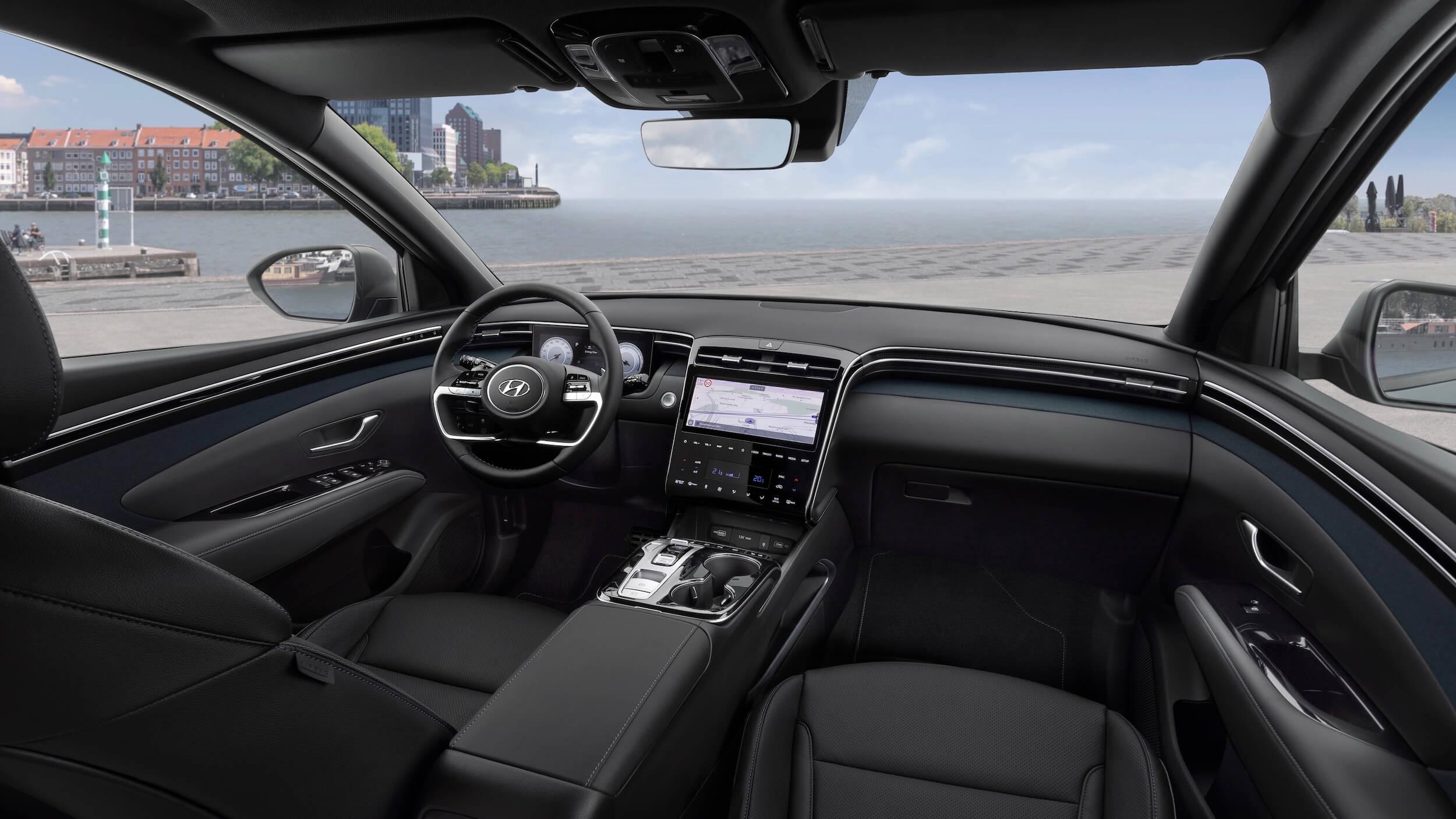 Nieuwe Hyundai Tucson interieur